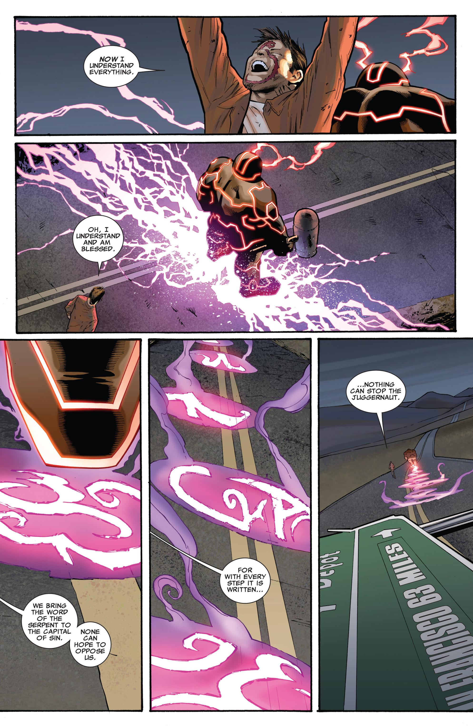 Read online Uncanny X-Men (1963) comic -  Issue #540 - 9