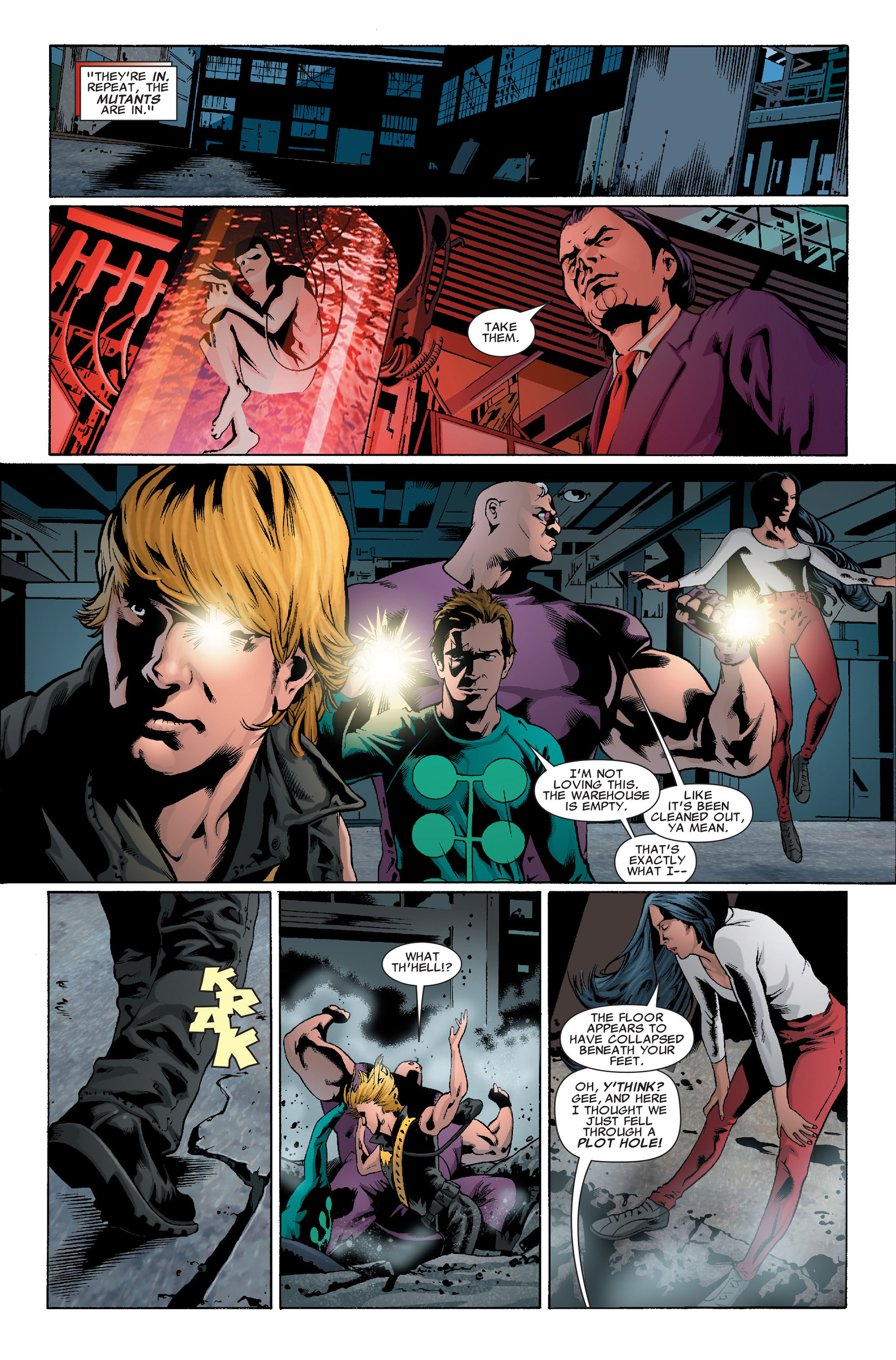 Read online X-Factor (2006) comic -  Issue #37 - 6