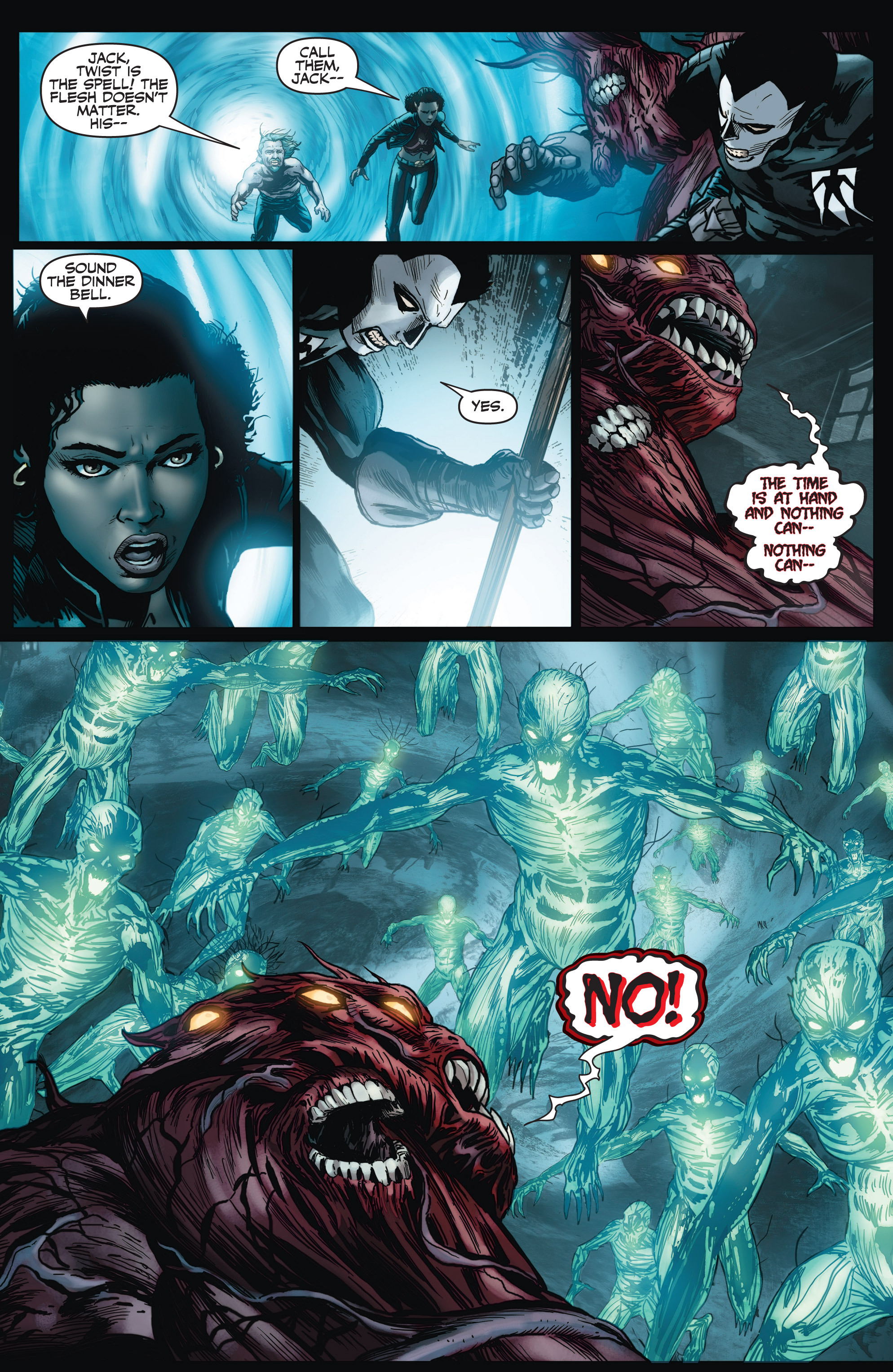 Read online Shadowman (2012) comic -  Issue #4 - 18