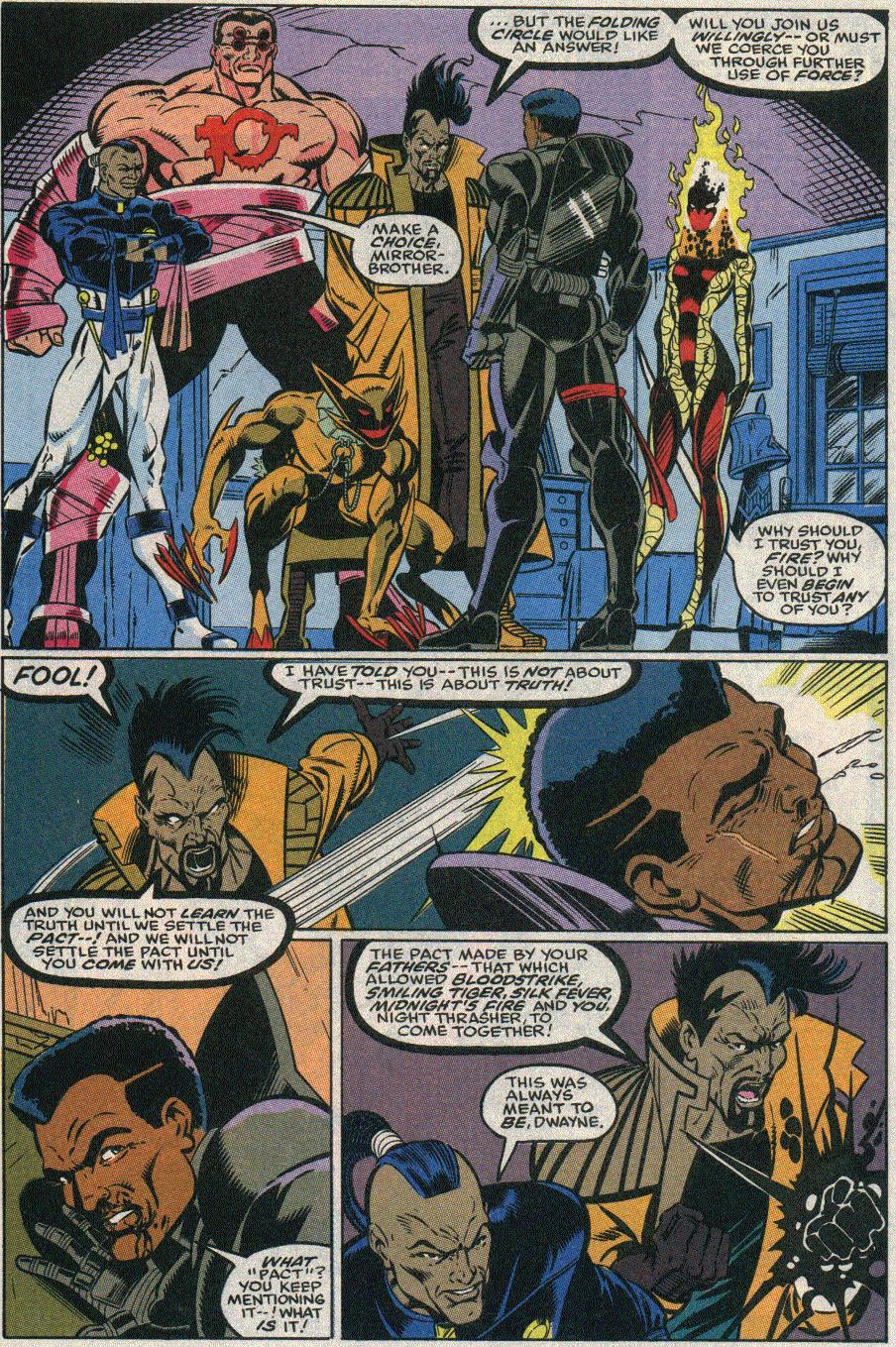 The New Warriors Issue #22 #26 - English 3