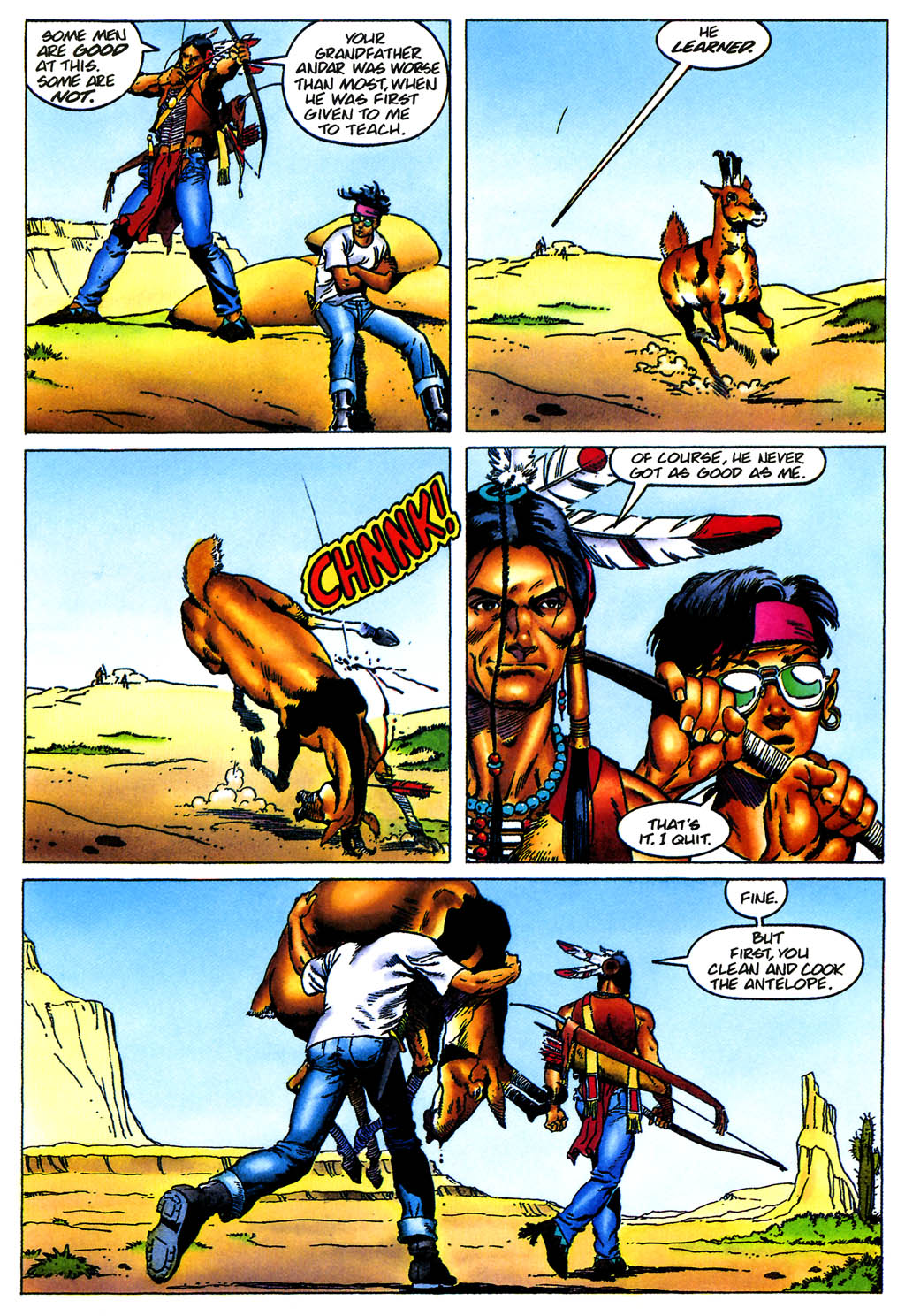 Read online Turok, Dinosaur Hunter (1993) comic -  Issue #0 - 7