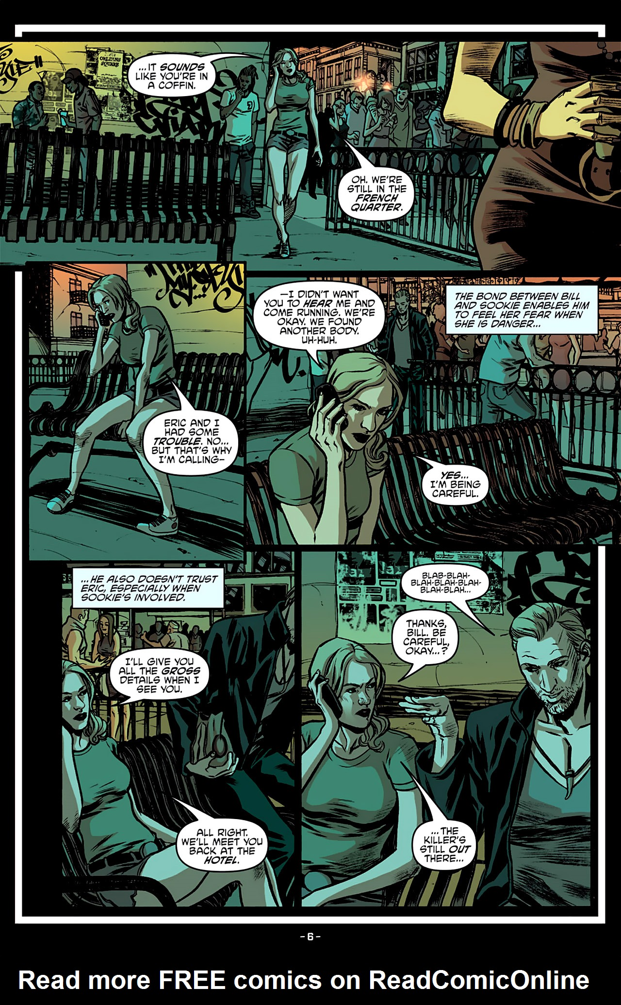 Read online True Blood: French Quarter comic -  Issue #3 - 11