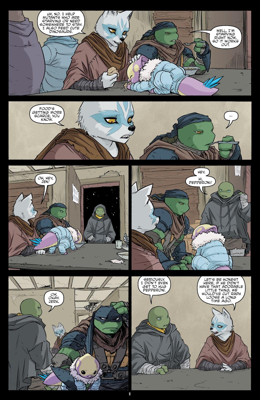 Read online Teenage Mutant Ninja Turtles (2011) comic -  Issue #101 - 13