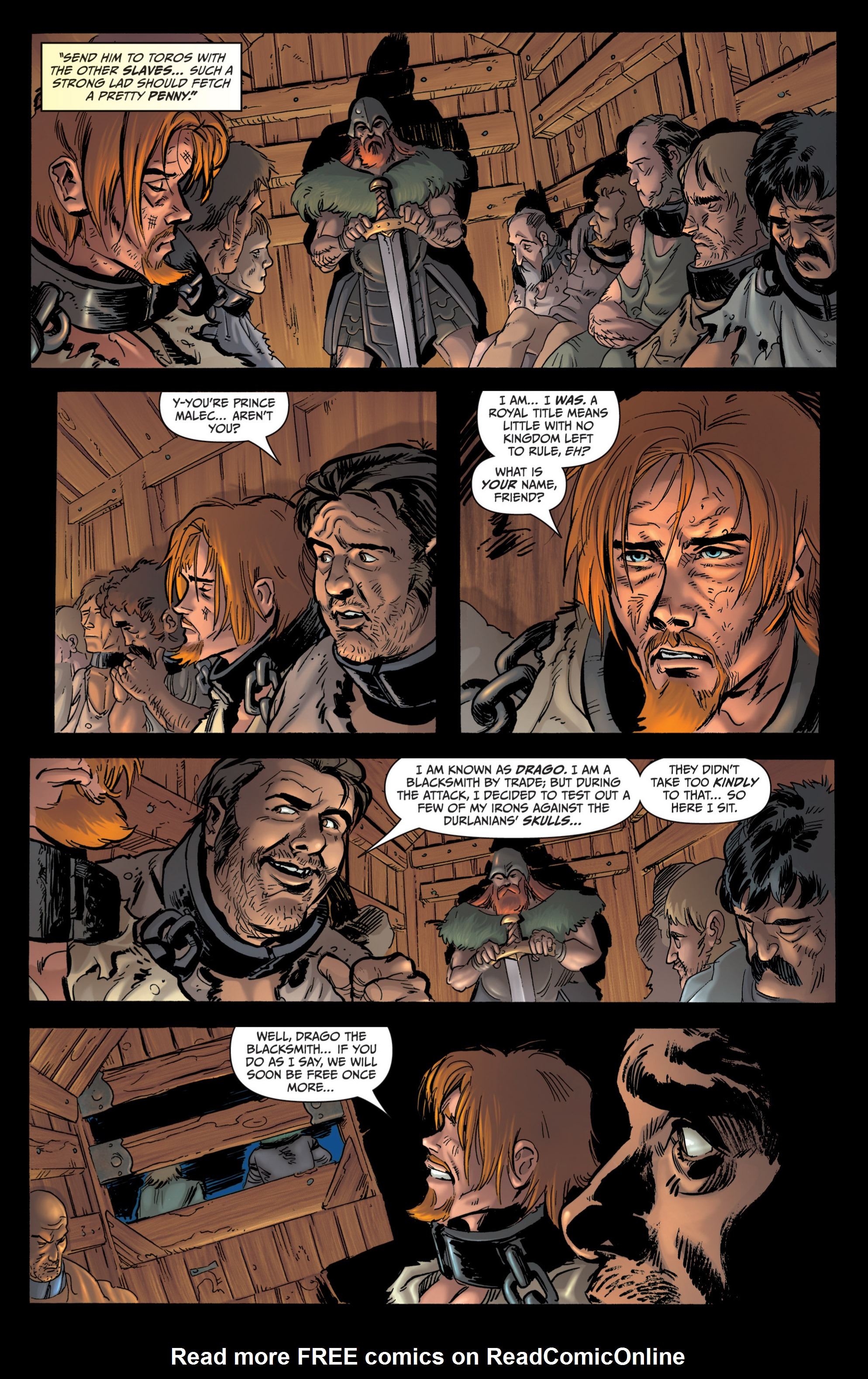Read online Grimm Fairy Tales presents Grimm Universe comic -  Issue # TPB - 144