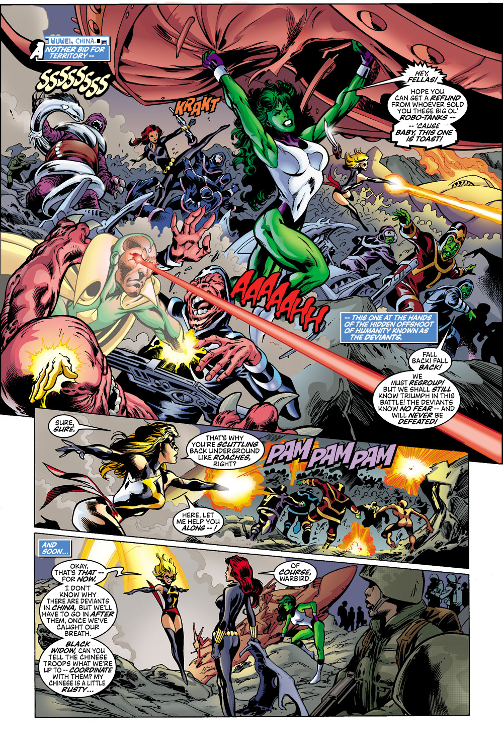 Read online Avengers (1998) comic -  Issue #43 - 10