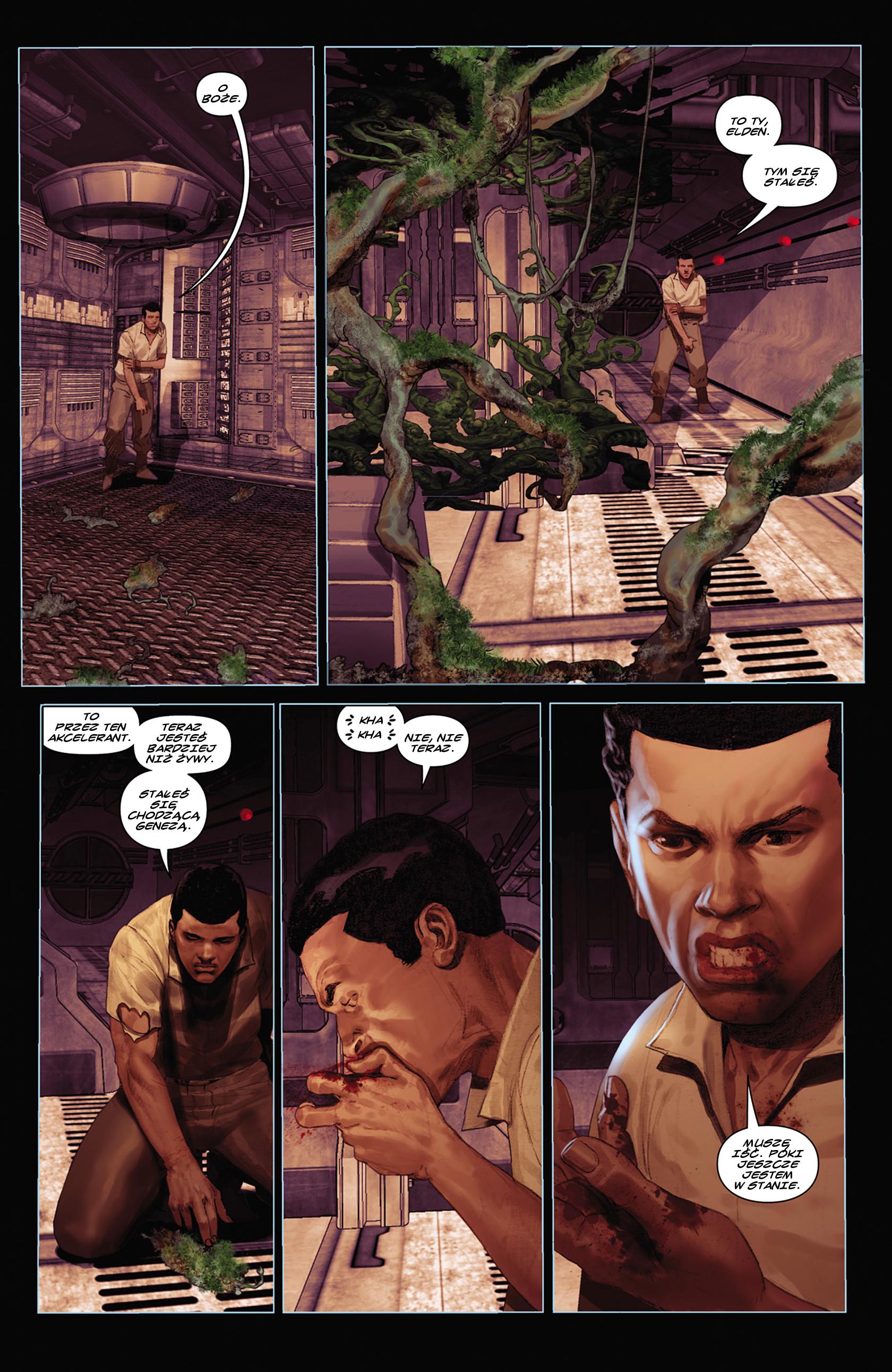 Read online Alien vs. Predator: Fire and Stone comic -  Issue #2 - 10