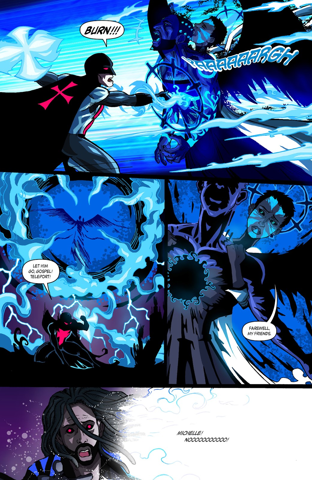 Sentinels issue 3 - Page 22