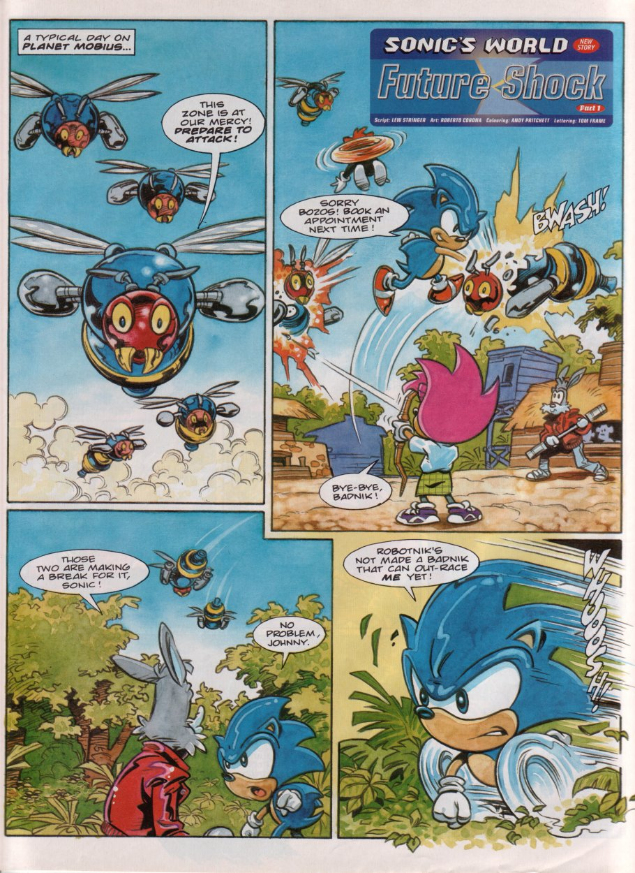 Read online Sonic the Comic comic -  Issue #86 - 24