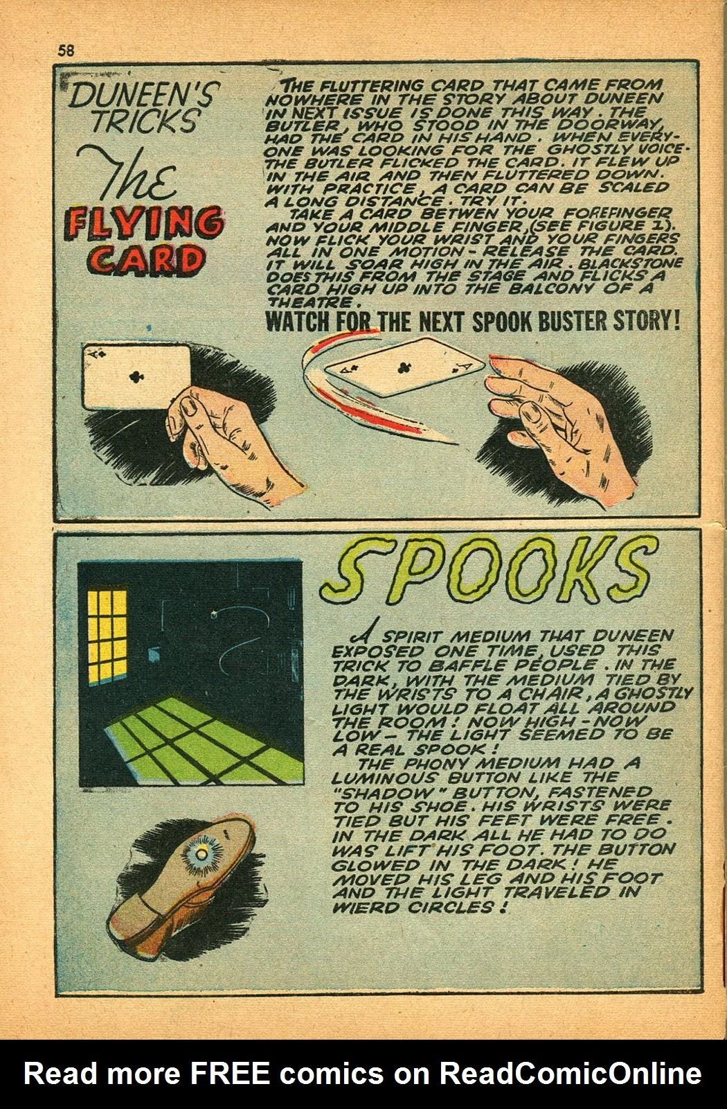 Read online Super-Magician Comics comic -  Issue #9 - 57