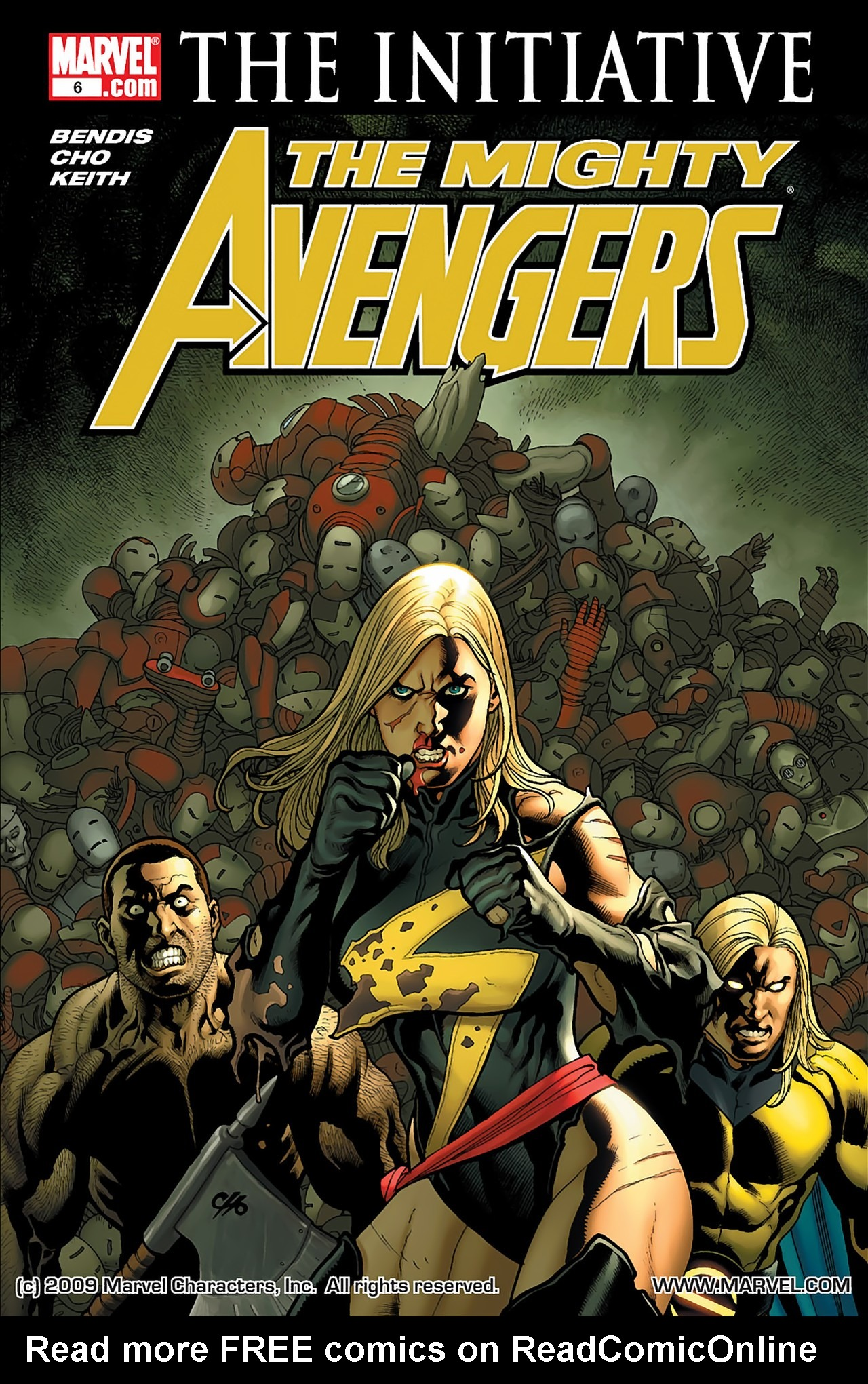 The Mighty Avengers 6 Page 1