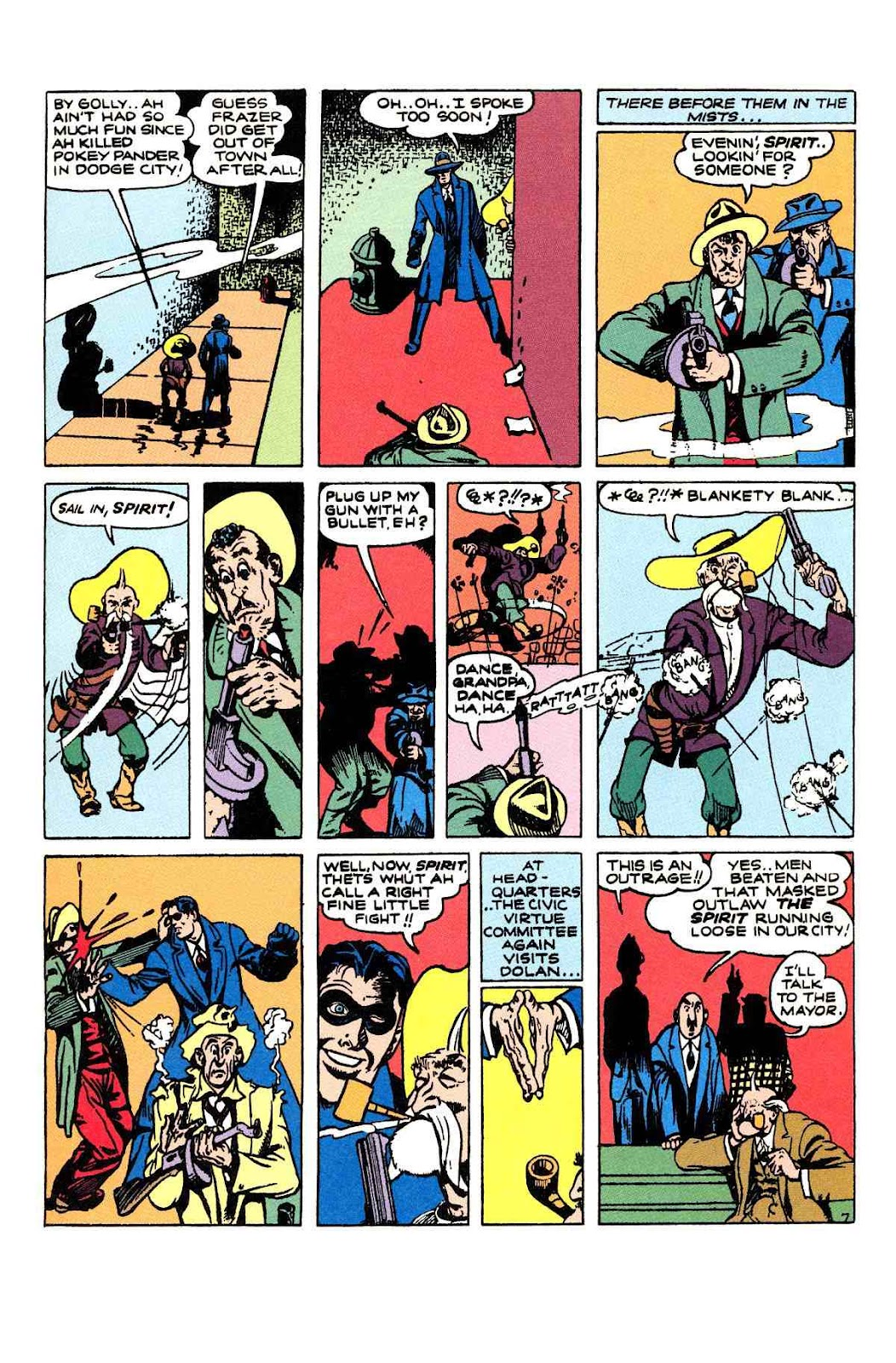 Read online Will Eisner's The Spirit Archives comic -  Issue # TPB 2 (Part 1) - 71