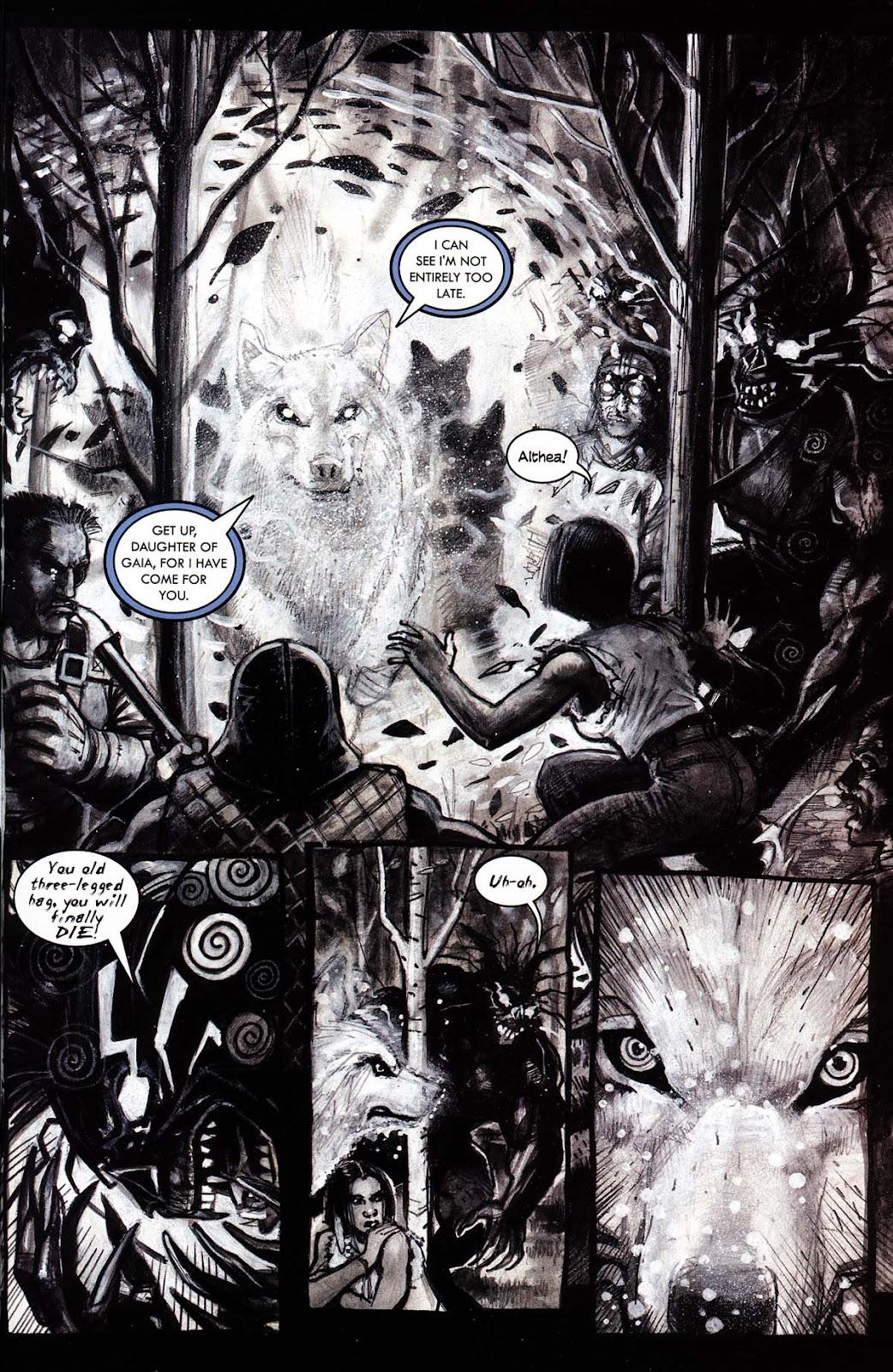 Read online Werewolf the Apocalypse comic -  Issue # Black Furies - 33