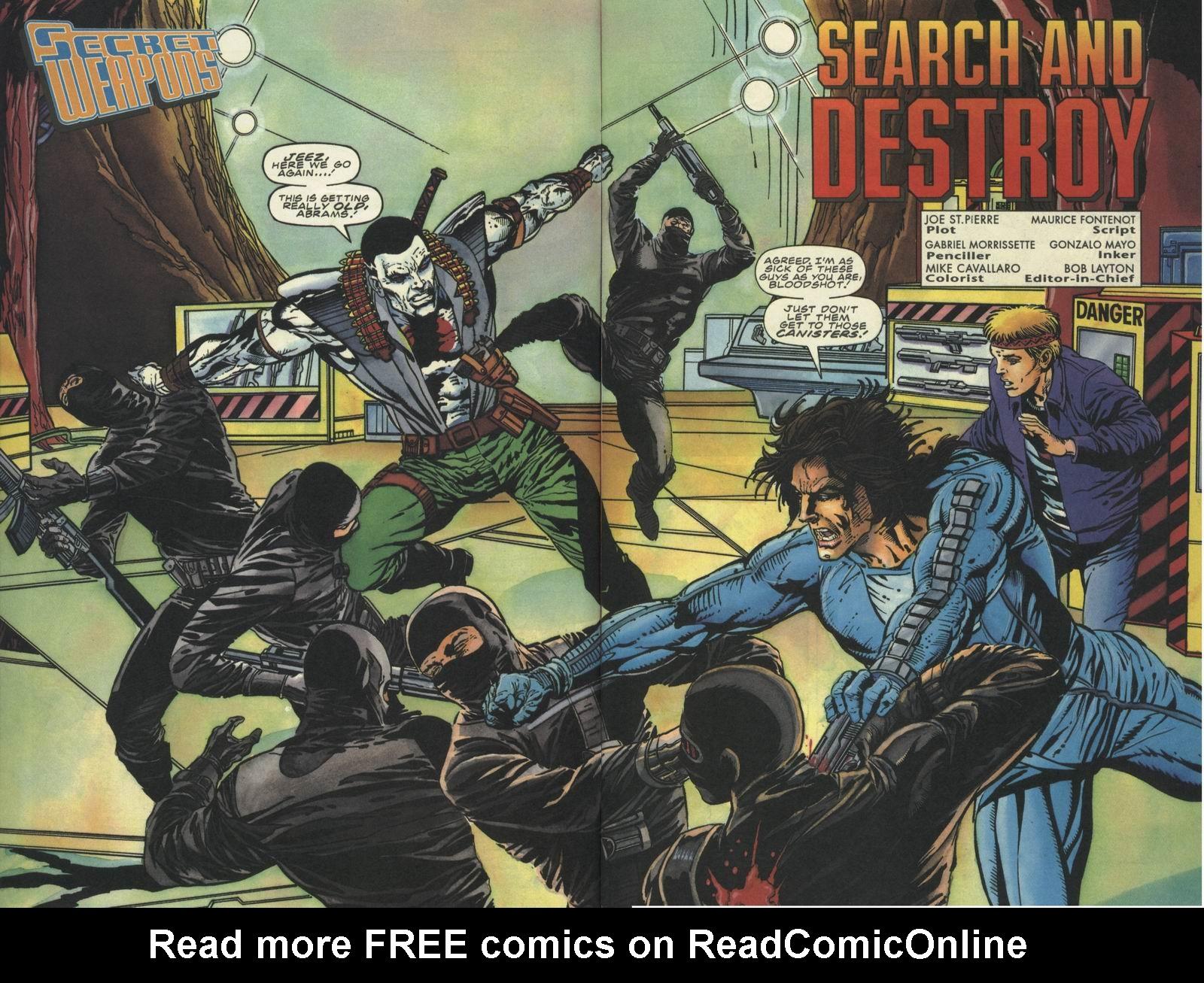 Read online Secret Weapons comic -  Issue #10 - 3