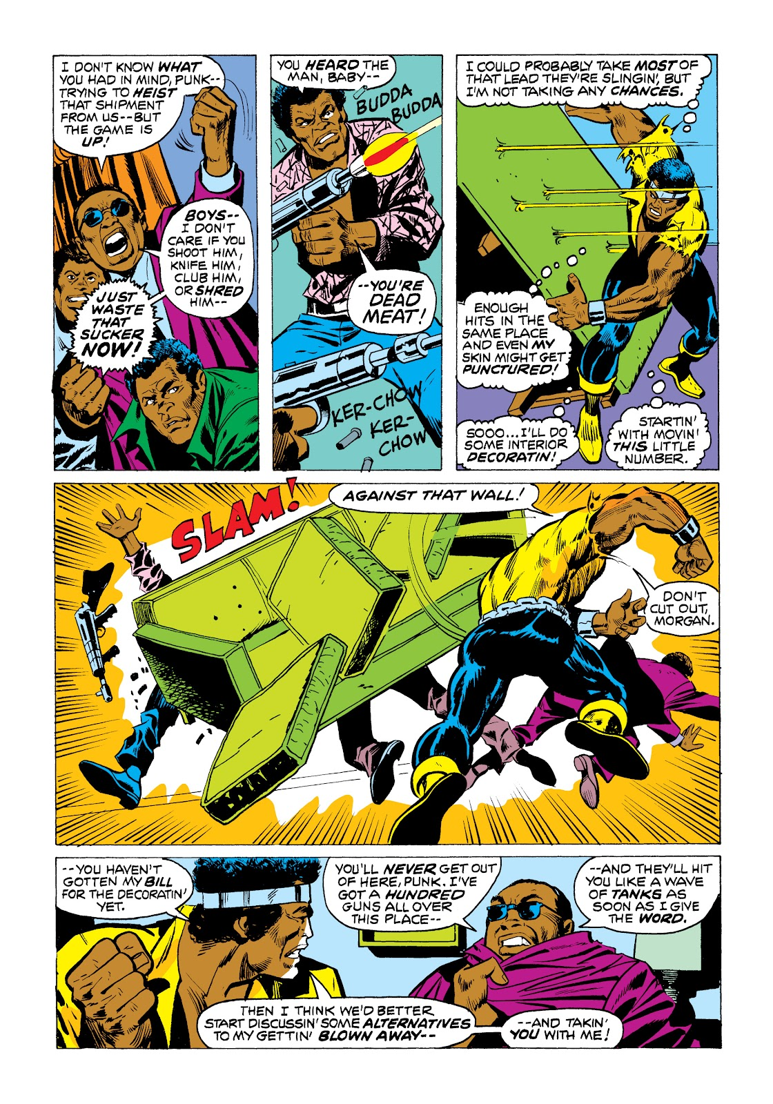 Read online Marvel Masterworks: Luke Cage, Power Man comic -  Issue # TPB 2 (Part 1) - 74