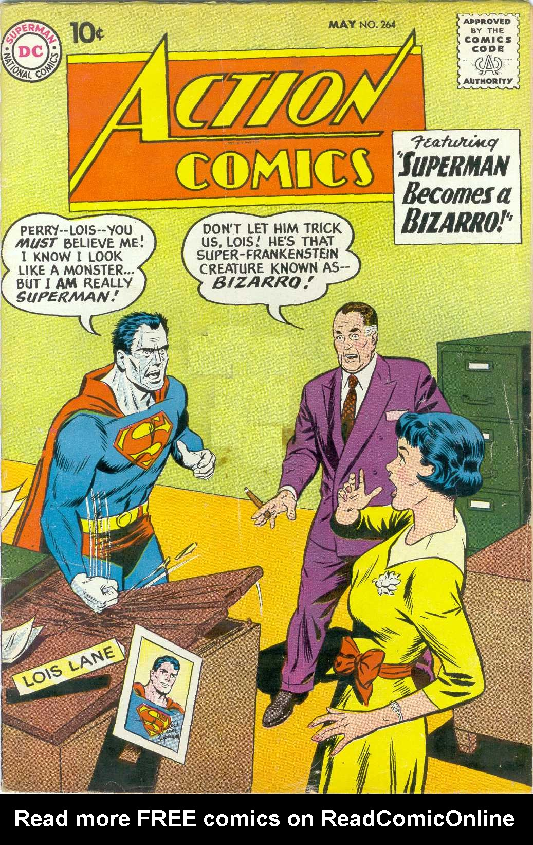 Read online Action Comics (1938) comic -  Issue #264 - 1