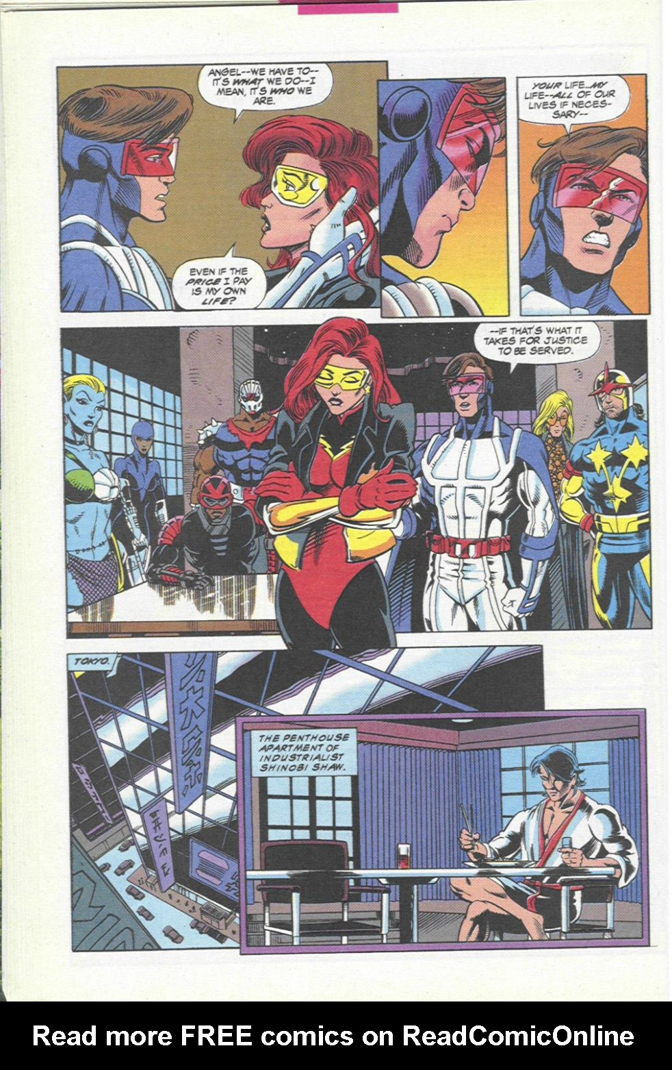 The New Warriors Issue #45 #49 - English 20