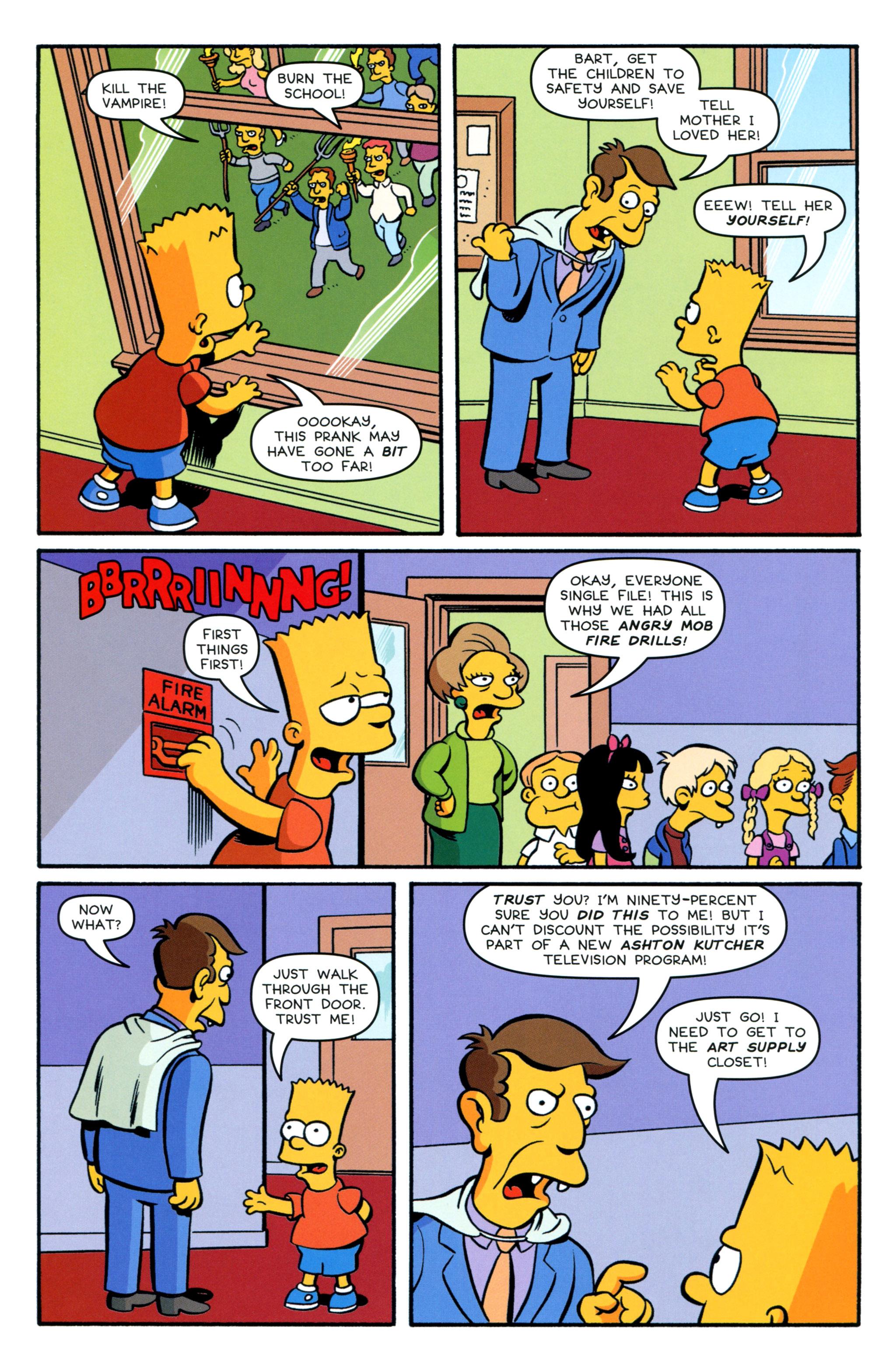 Read online Simpsons Comics Presents Bart Simpson comic -  Issue #89 - 22