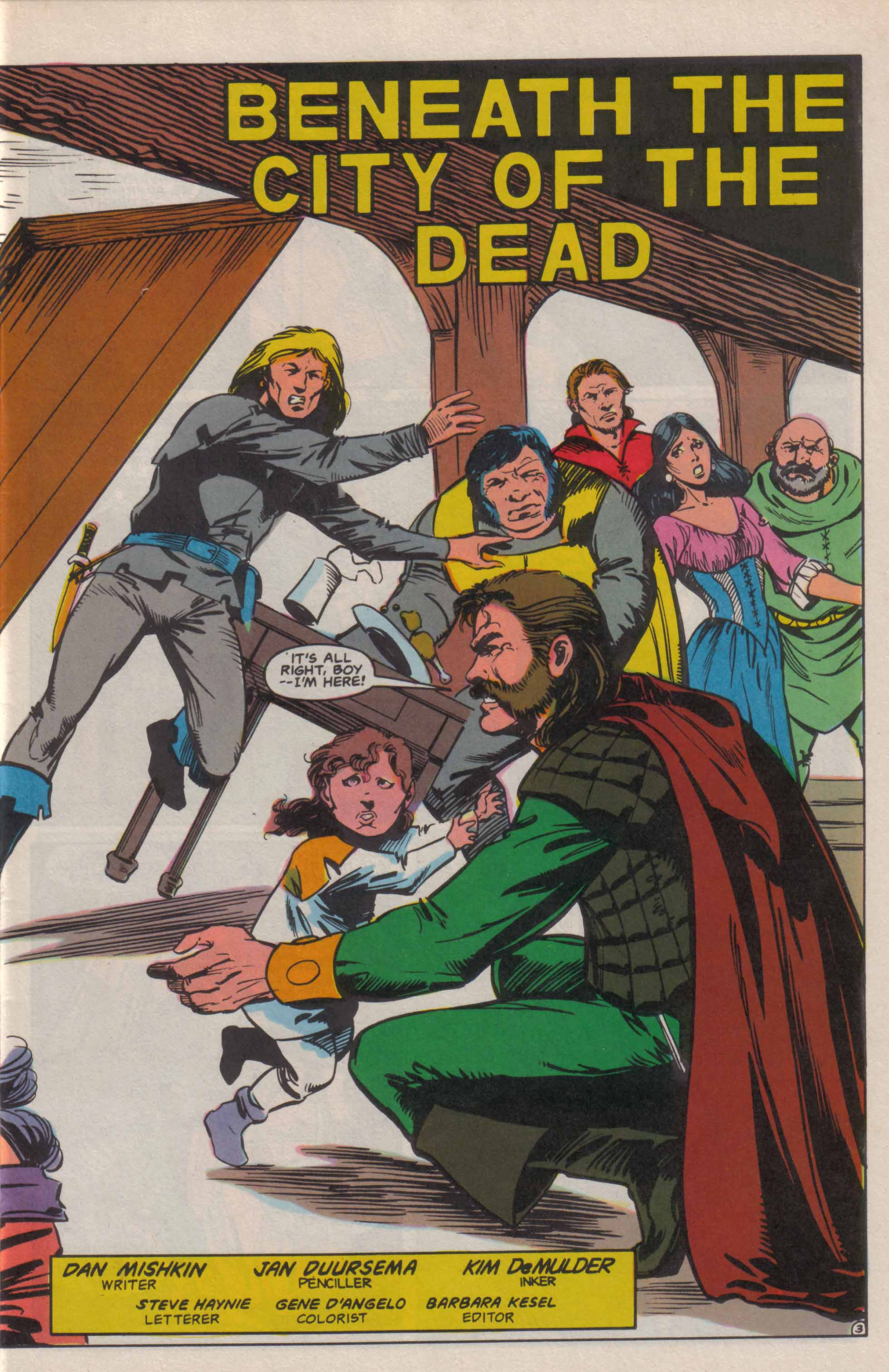Read online Advanced Dungeons & Dragons comic -  Issue #6 - 4