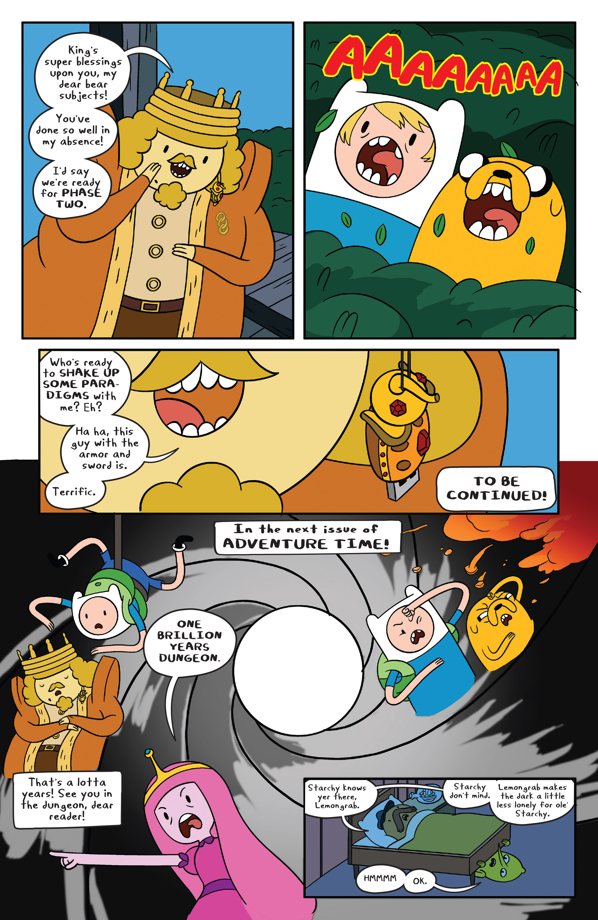 Read online Adventure Time comic -  Issue #41 - 18
