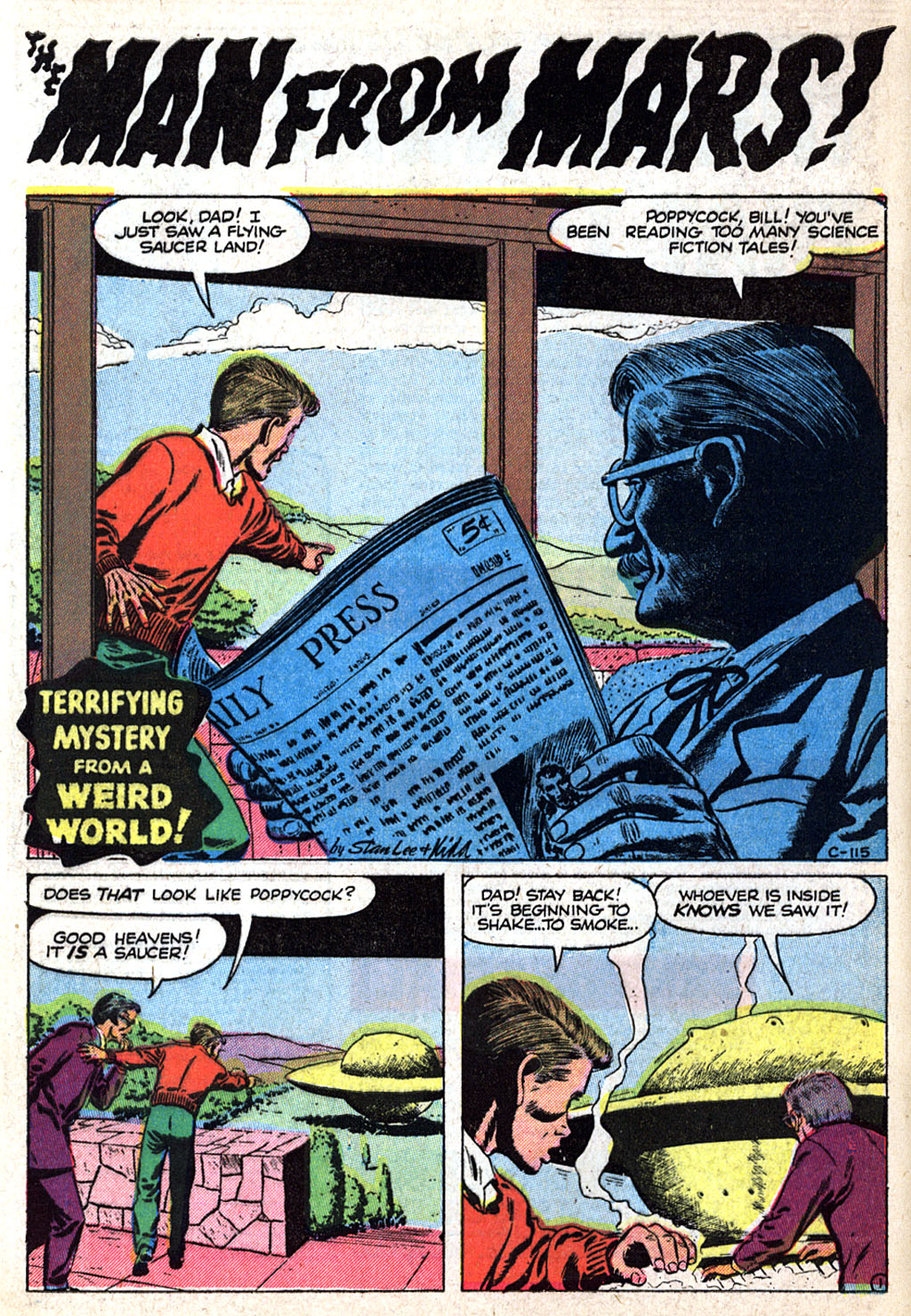 Read online Adventures into Weird Worlds comic -  Issue #17 - 10