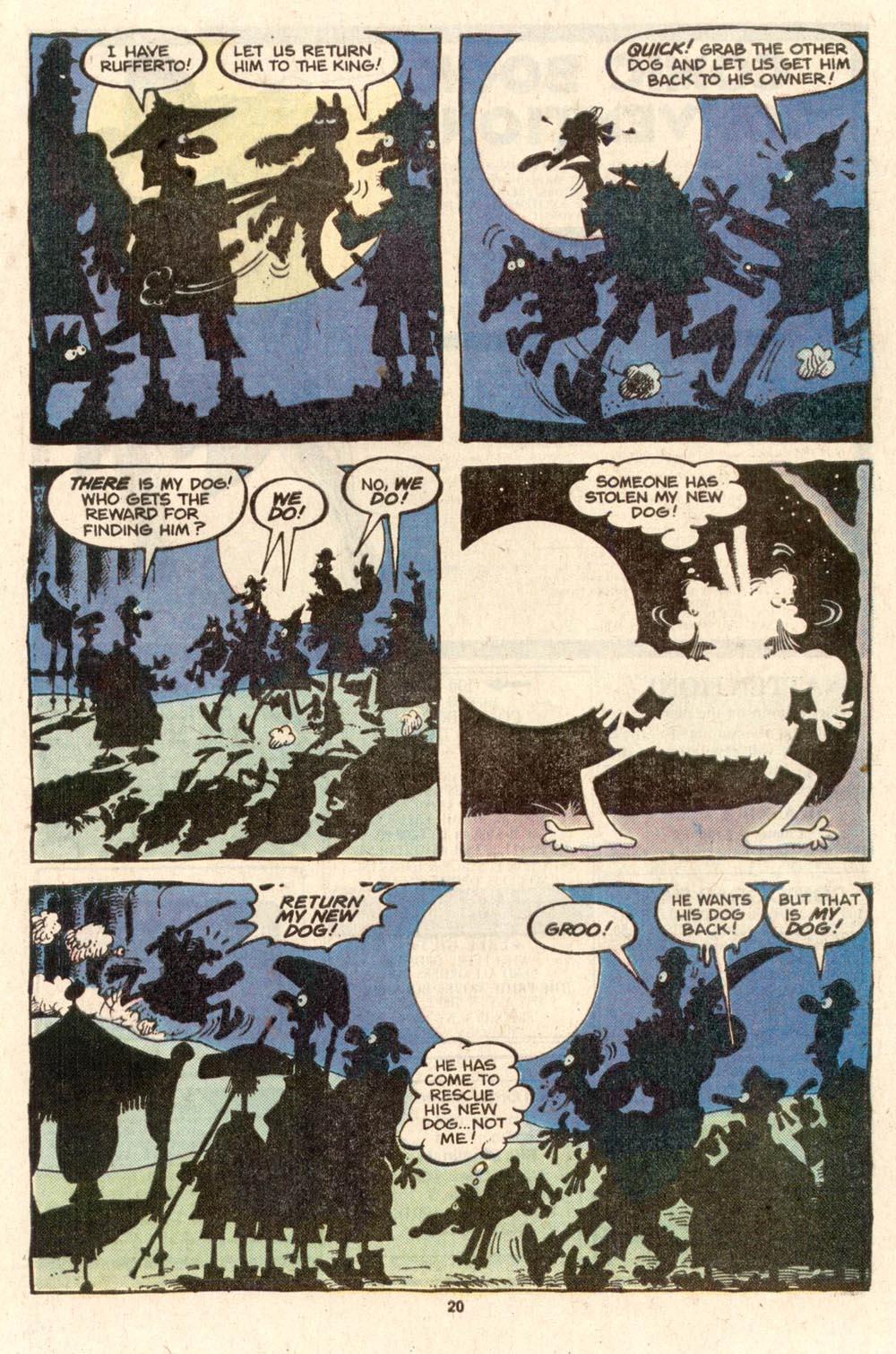 Read online Sergio Aragonés Groo the Wanderer comic -  Issue #39 - 21