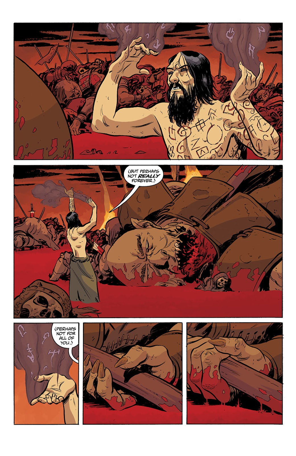 Read online B.P.R.D. Hell on Earth: The Return of the Master comic -  Issue #3 - 17