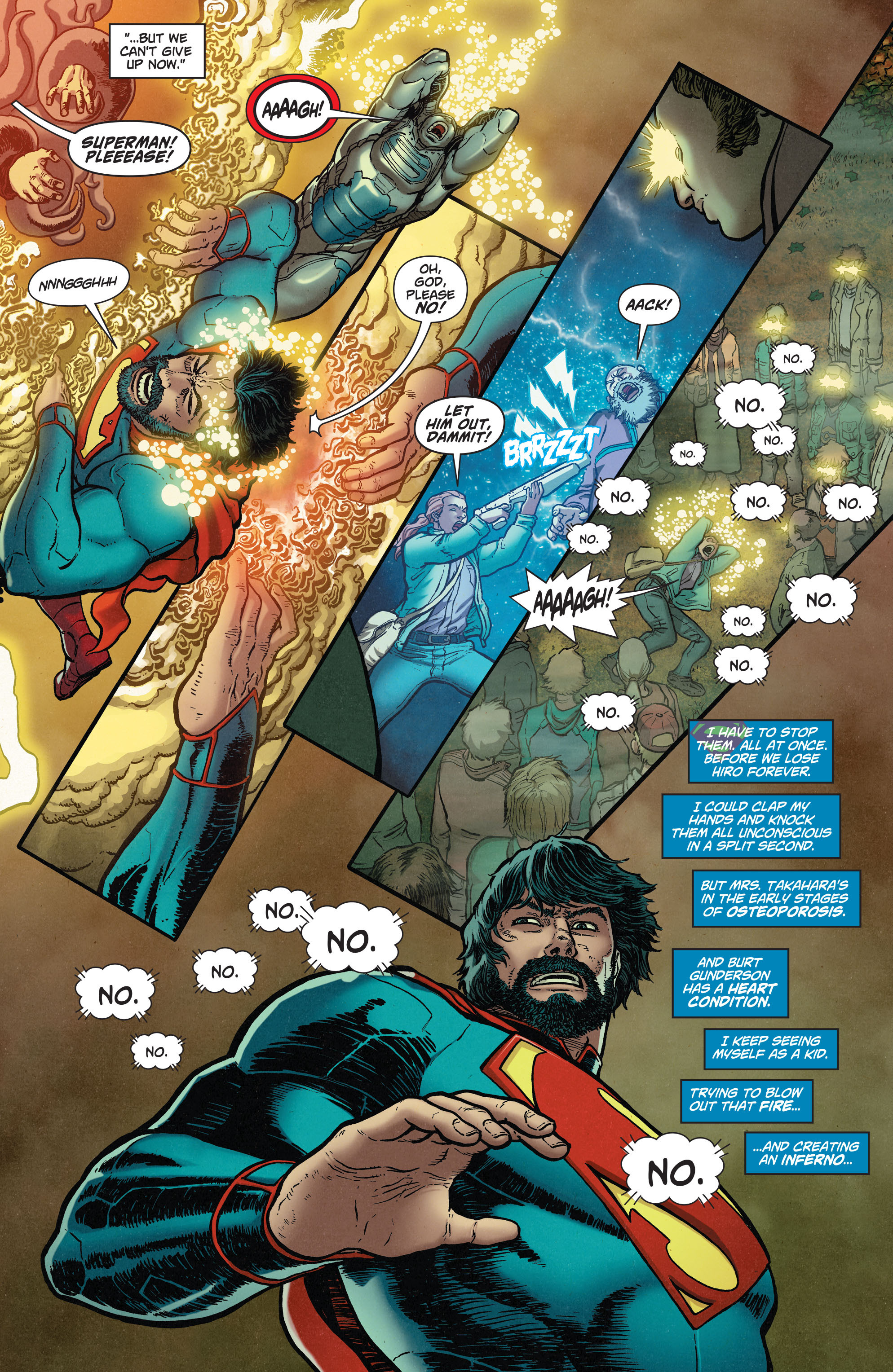 Read online Action Comics (2011) comic -  Issue #37 - 17