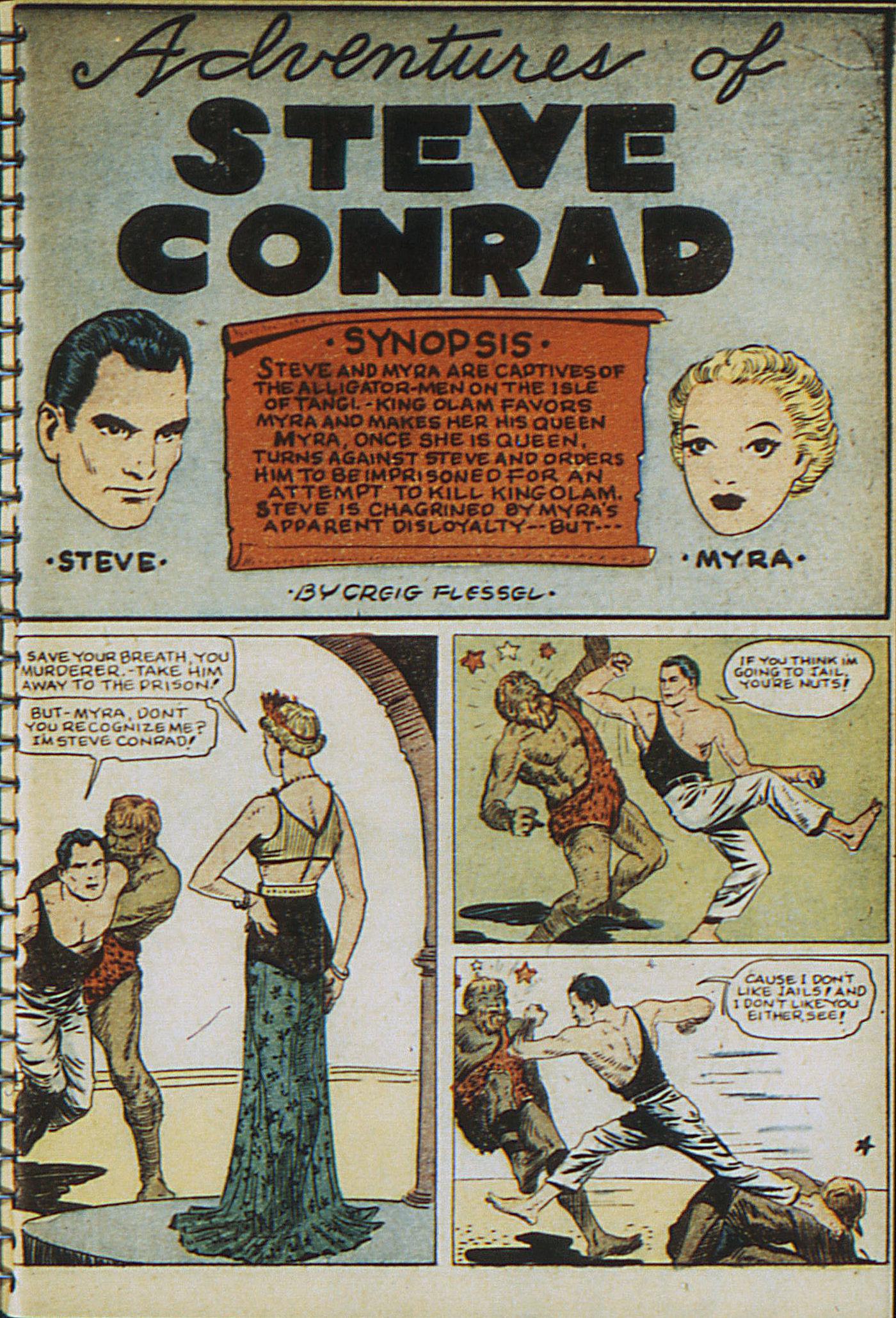 Read online Adventure Comics (1938) comic -  Issue #23 - 3