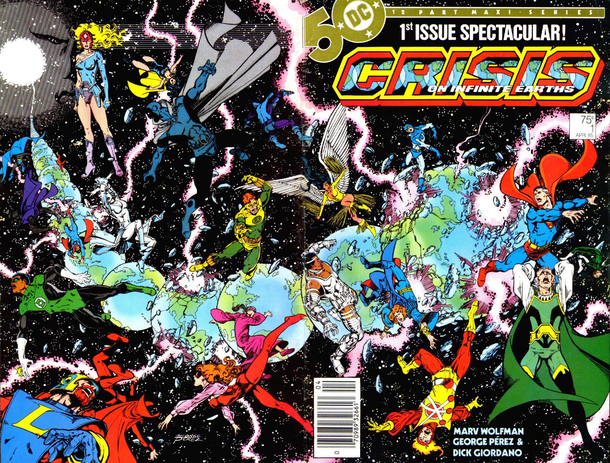 Crisis on Infinite Earths (1985) 1 Page 1