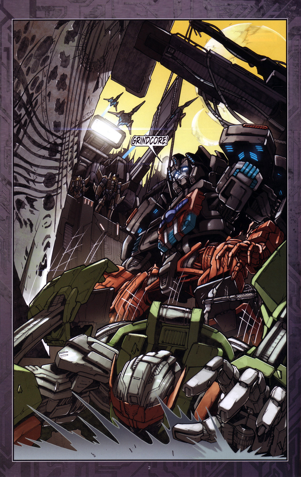 Read online Transformers: The Reign of Starscream comic -  Issue #4 - 4