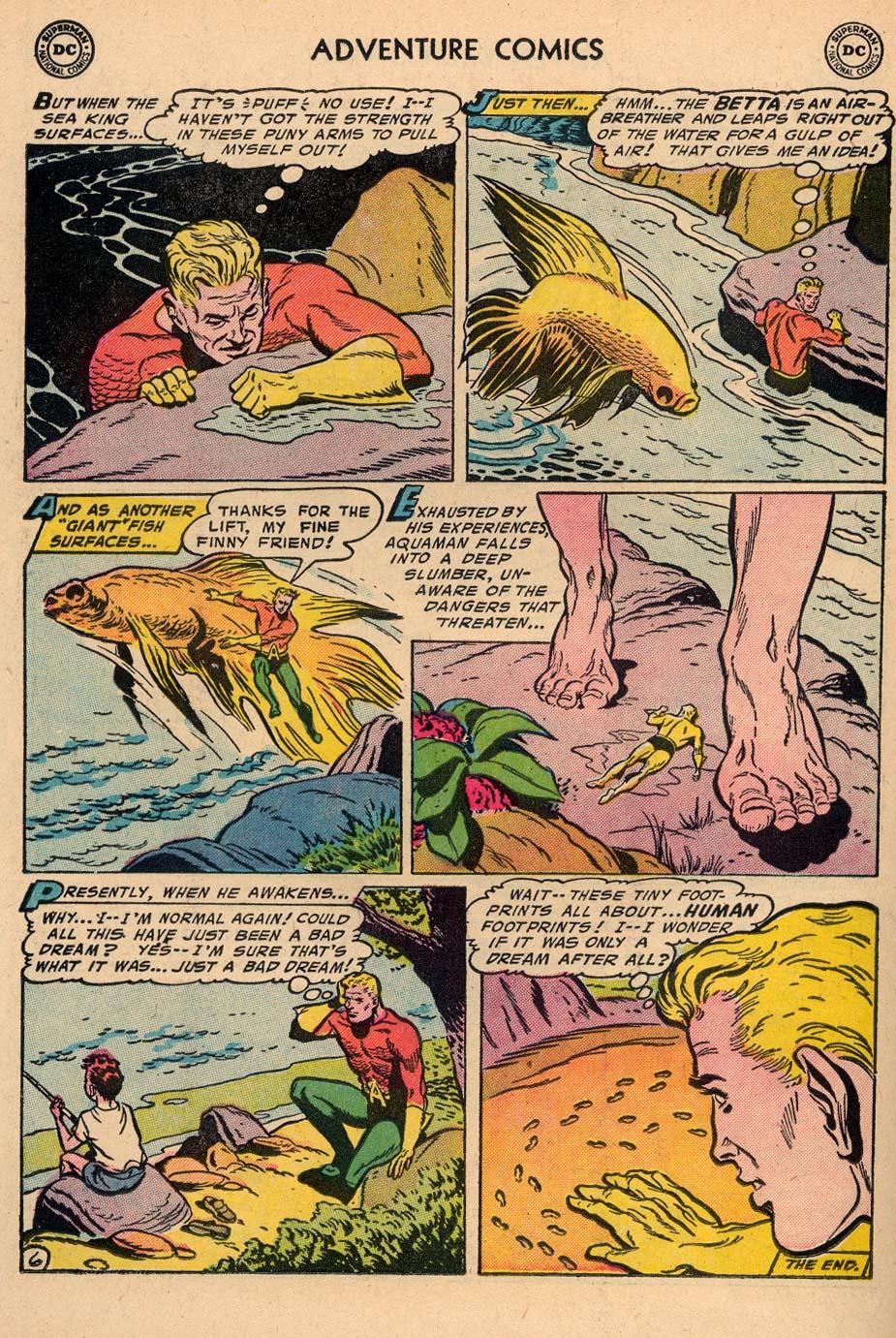 Read online Adventure Comics (1938) comic -  Issue #212 - 22