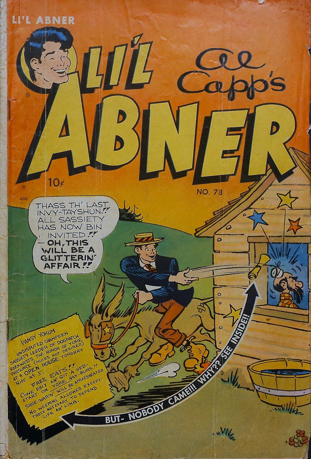 Li'l Abner Comics issue 78 - Page 1