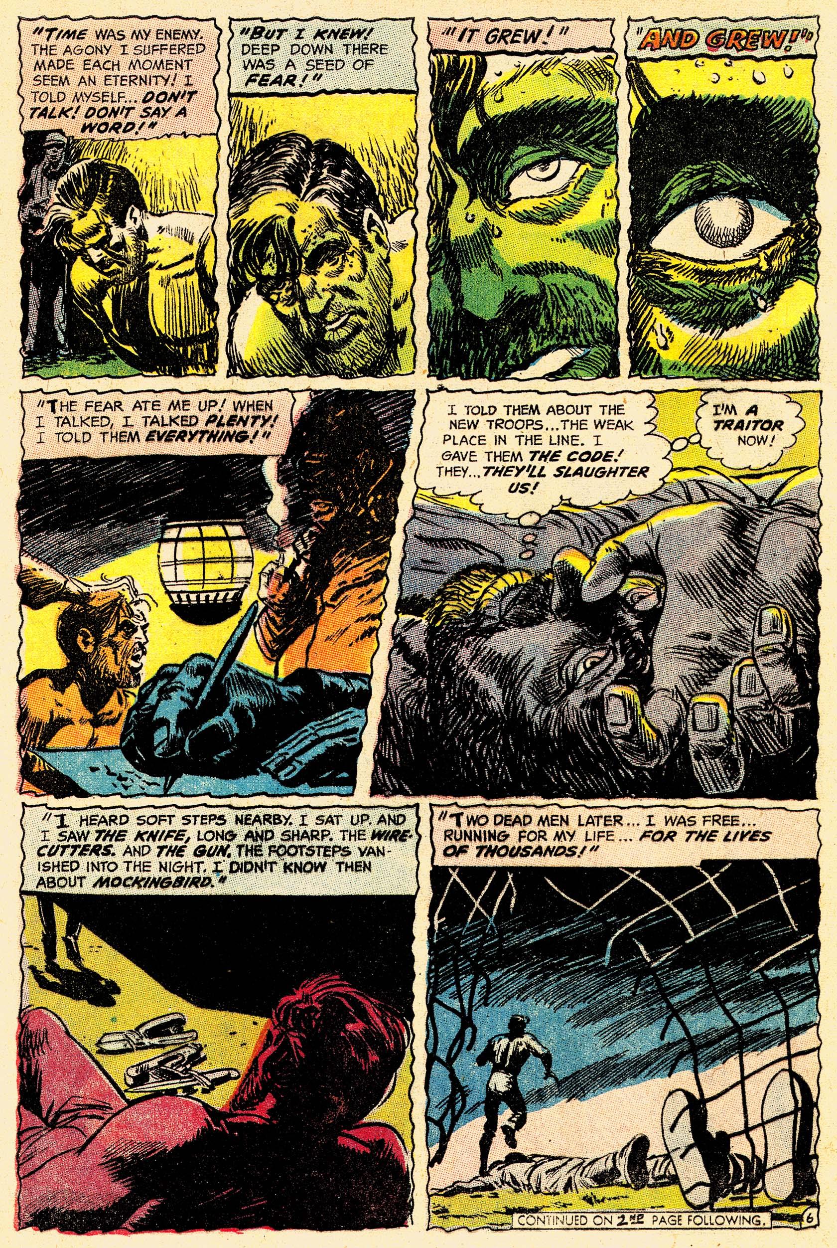 Read online Secret Six (1968) comic -  Issue #4 - 8