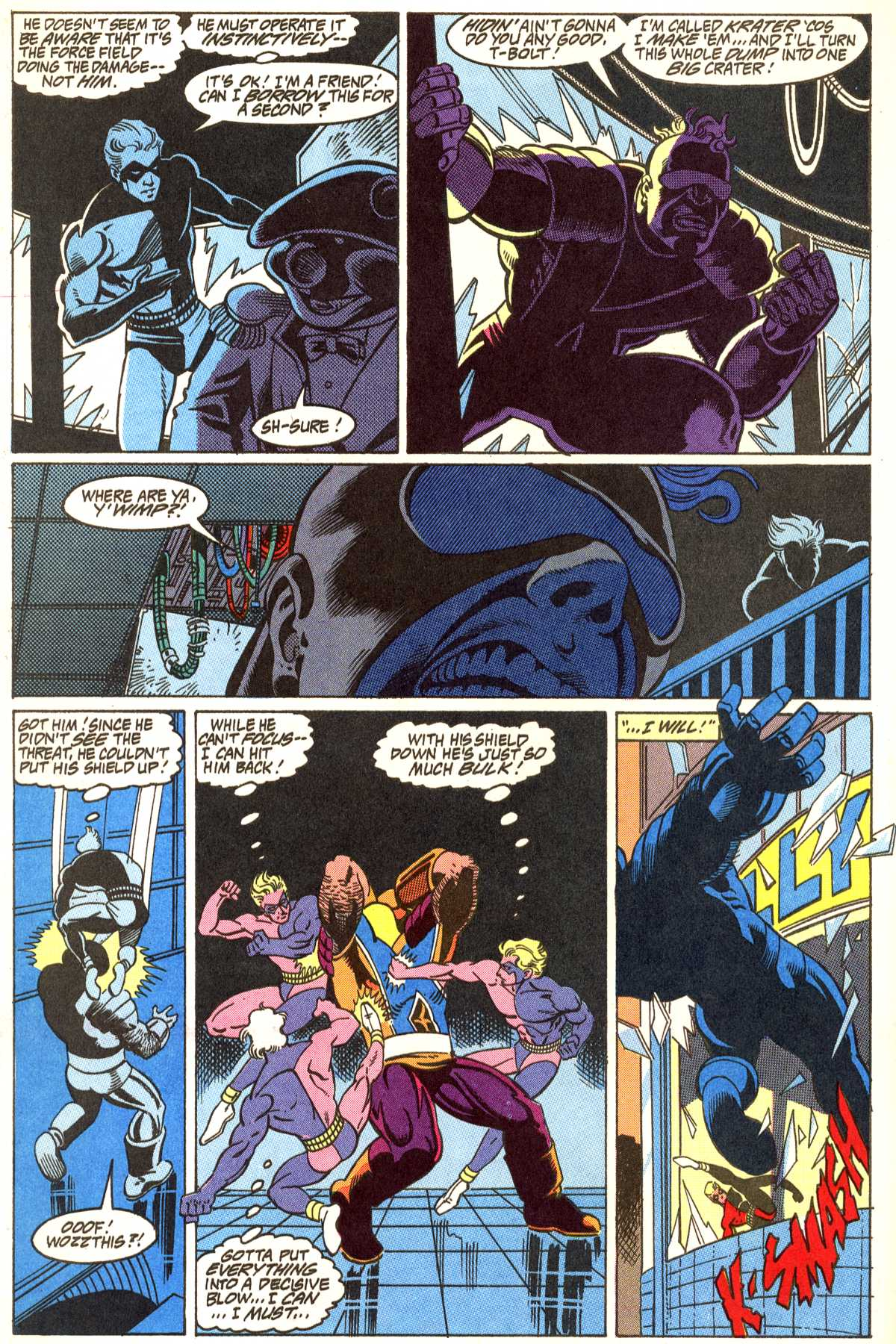 Read online Peter Cannon--Thunderbolt (1992) comic -  Issue #5 - 19