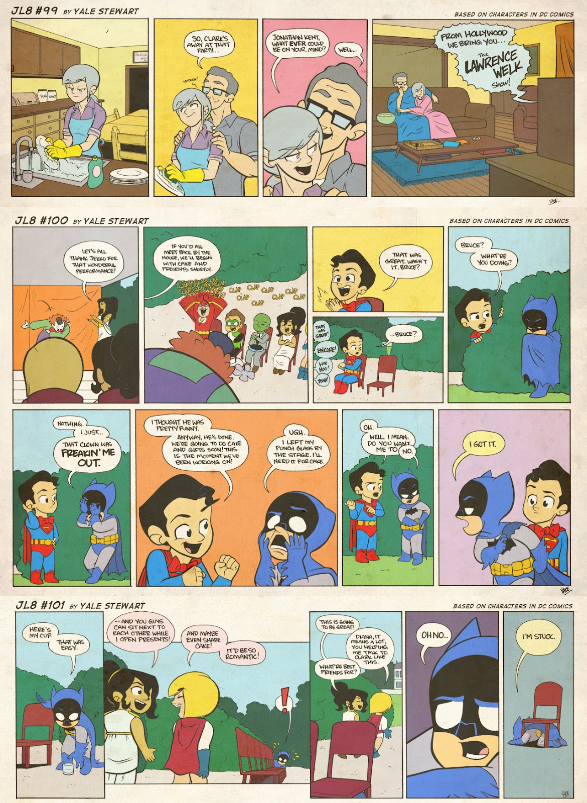 Read online JL8 – The Complete Collection comic -  Issue # TPB (Part 1) - 47