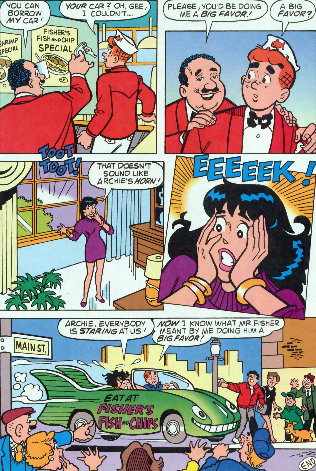 Read online Archie (1960) comic -  Issue #455 - 6