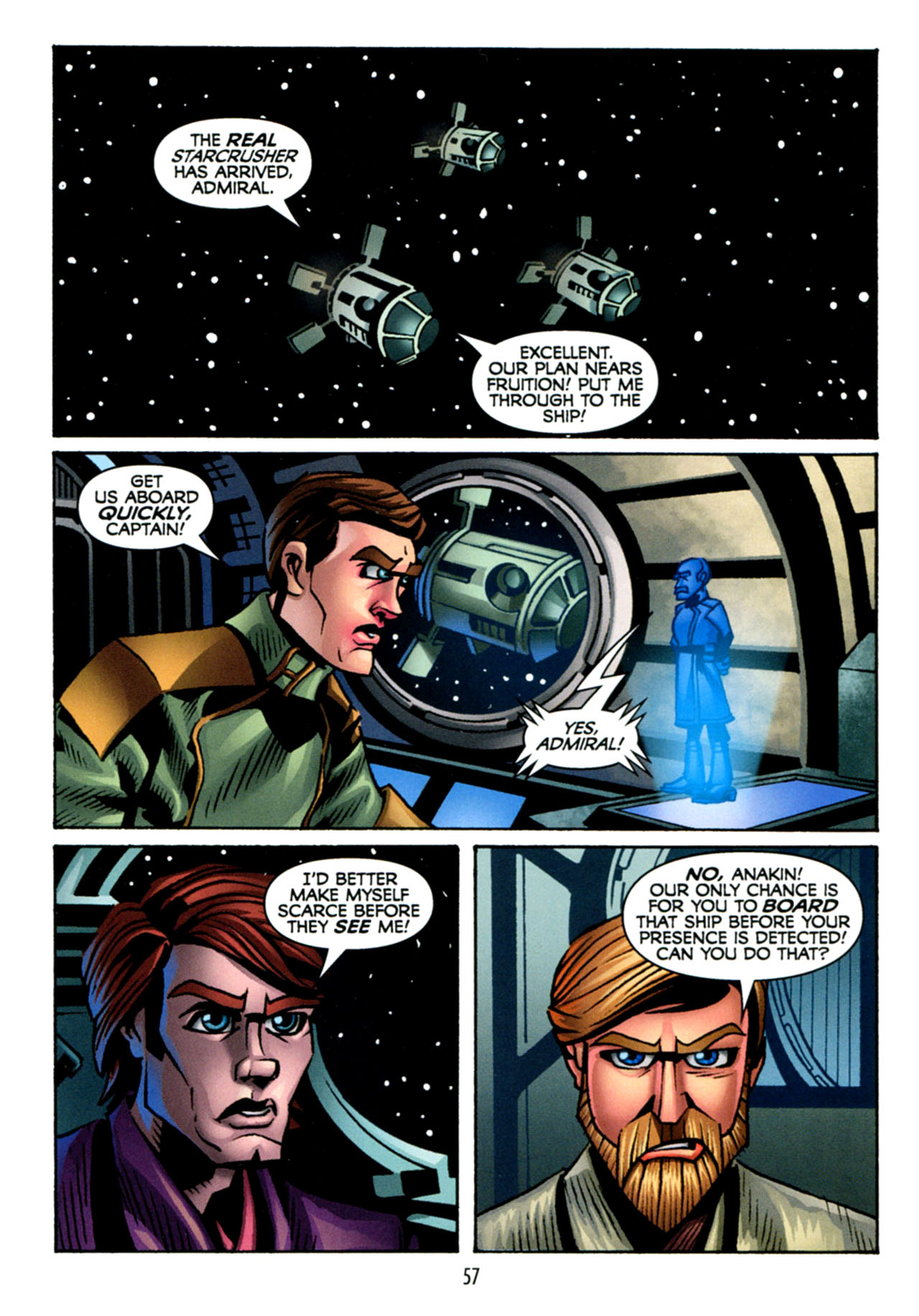 Read online Star Wars: The Clone Wars - The Starcrusher Trap comic -  Issue # Full - 58
