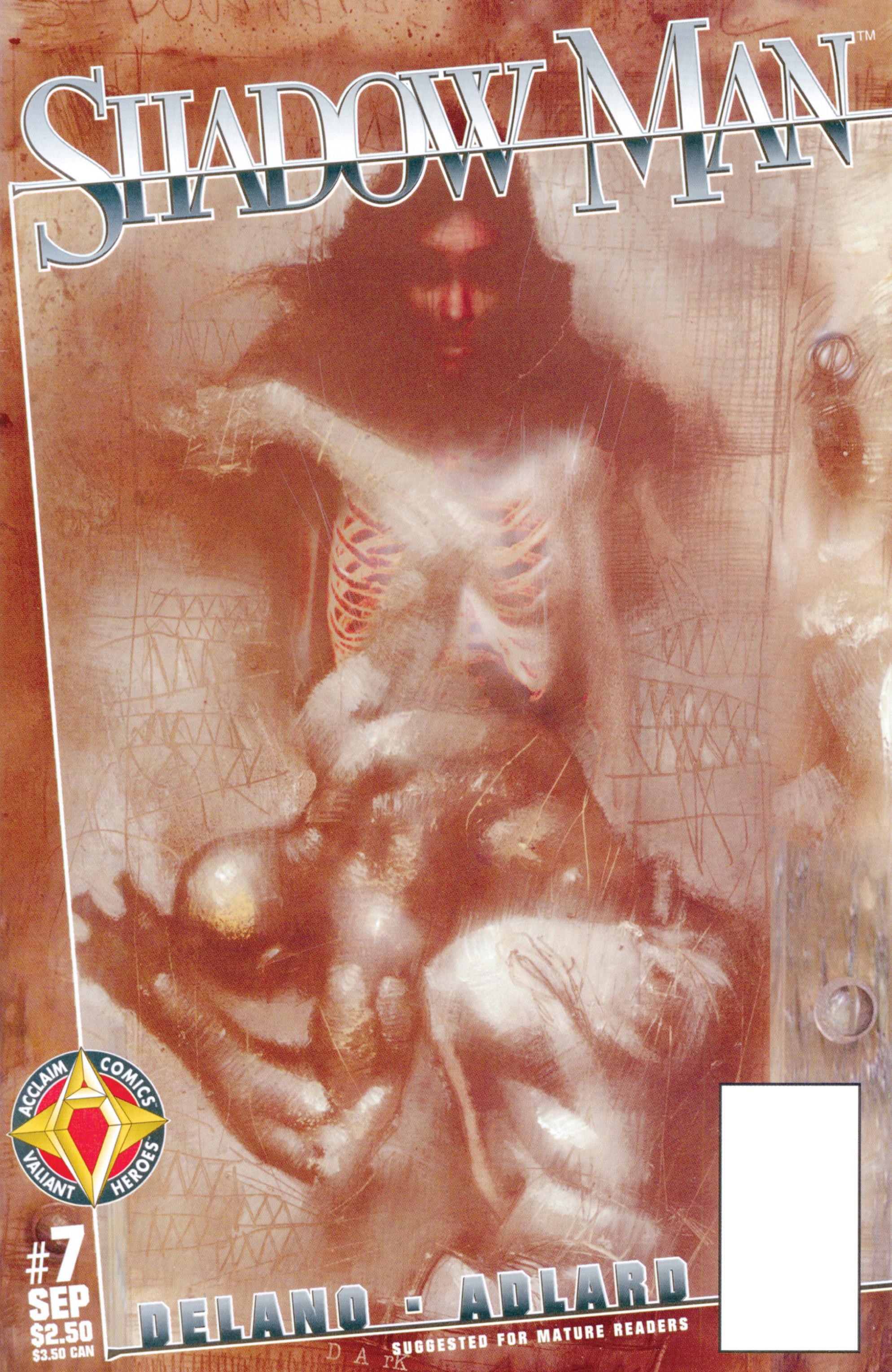 Read online Shadowman (1997) comic -  Issue #7 - 1