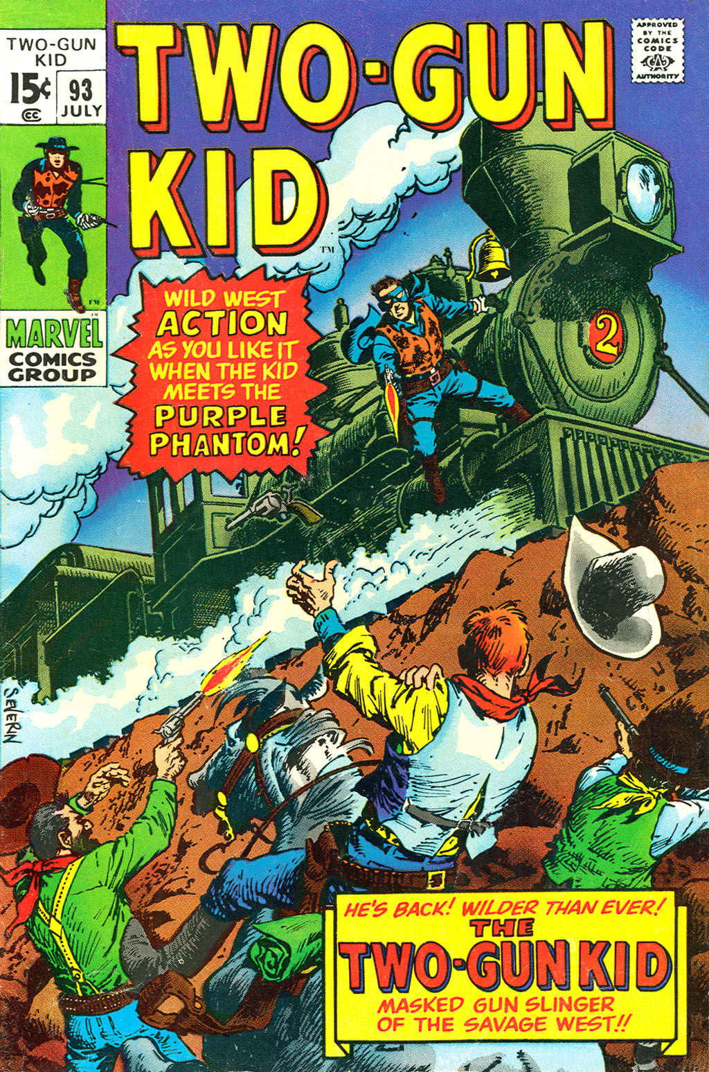 Read online Two-Gun Kid comic -  Issue #93 - 1