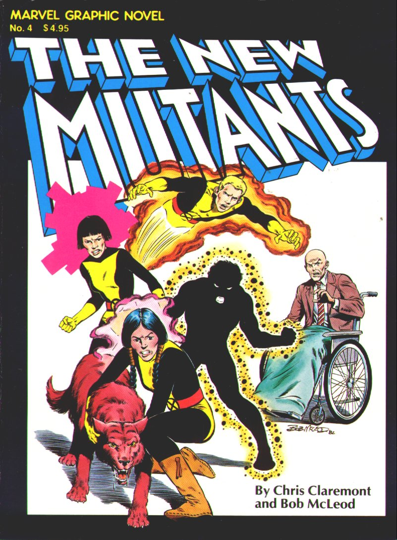 Marvel Graphic Novel 4_-_The_New_Mutants Page 1