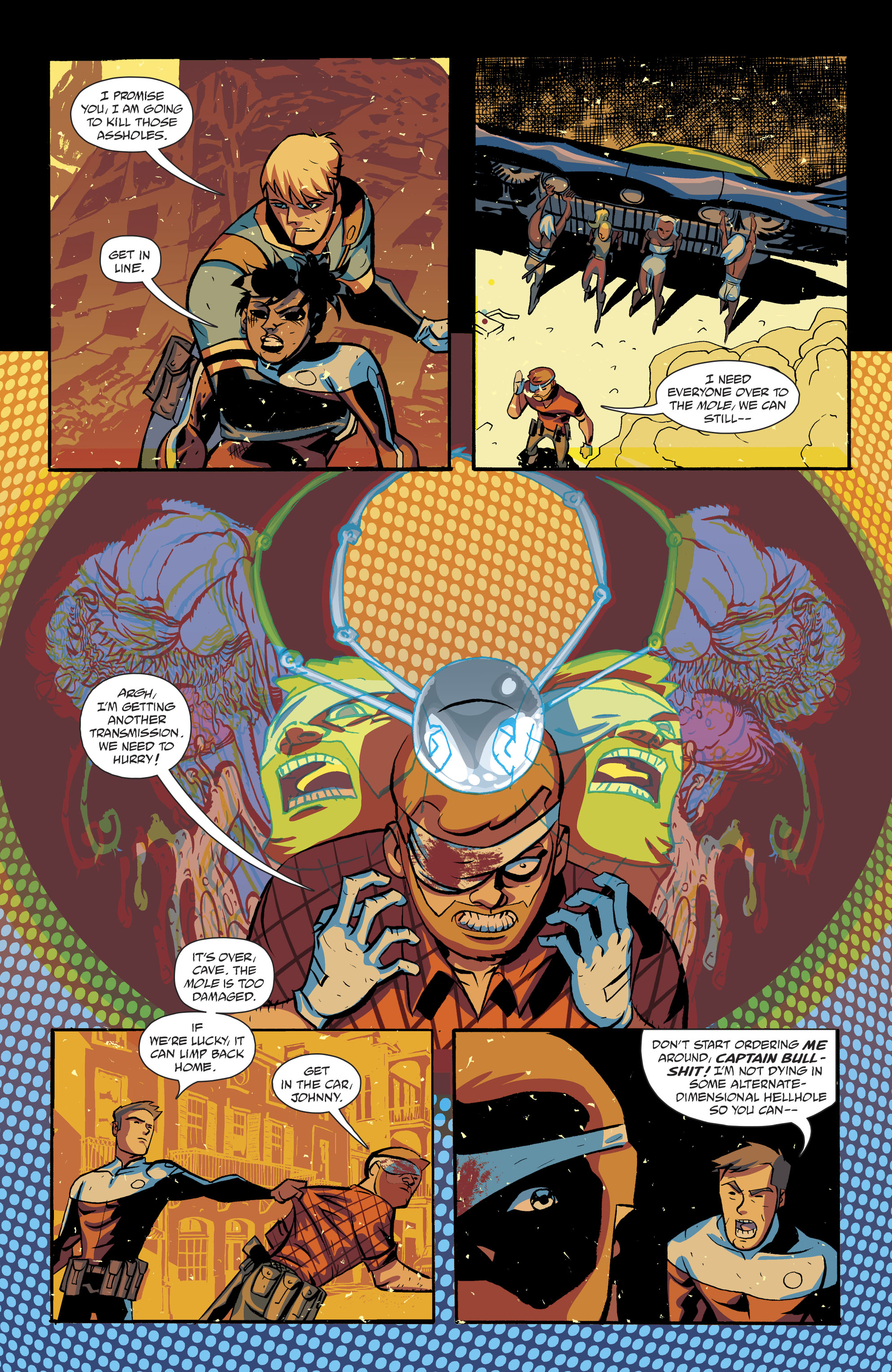 Read online Cave Carson Has a Cybernetic Eye comic -  Issue #8 - 23