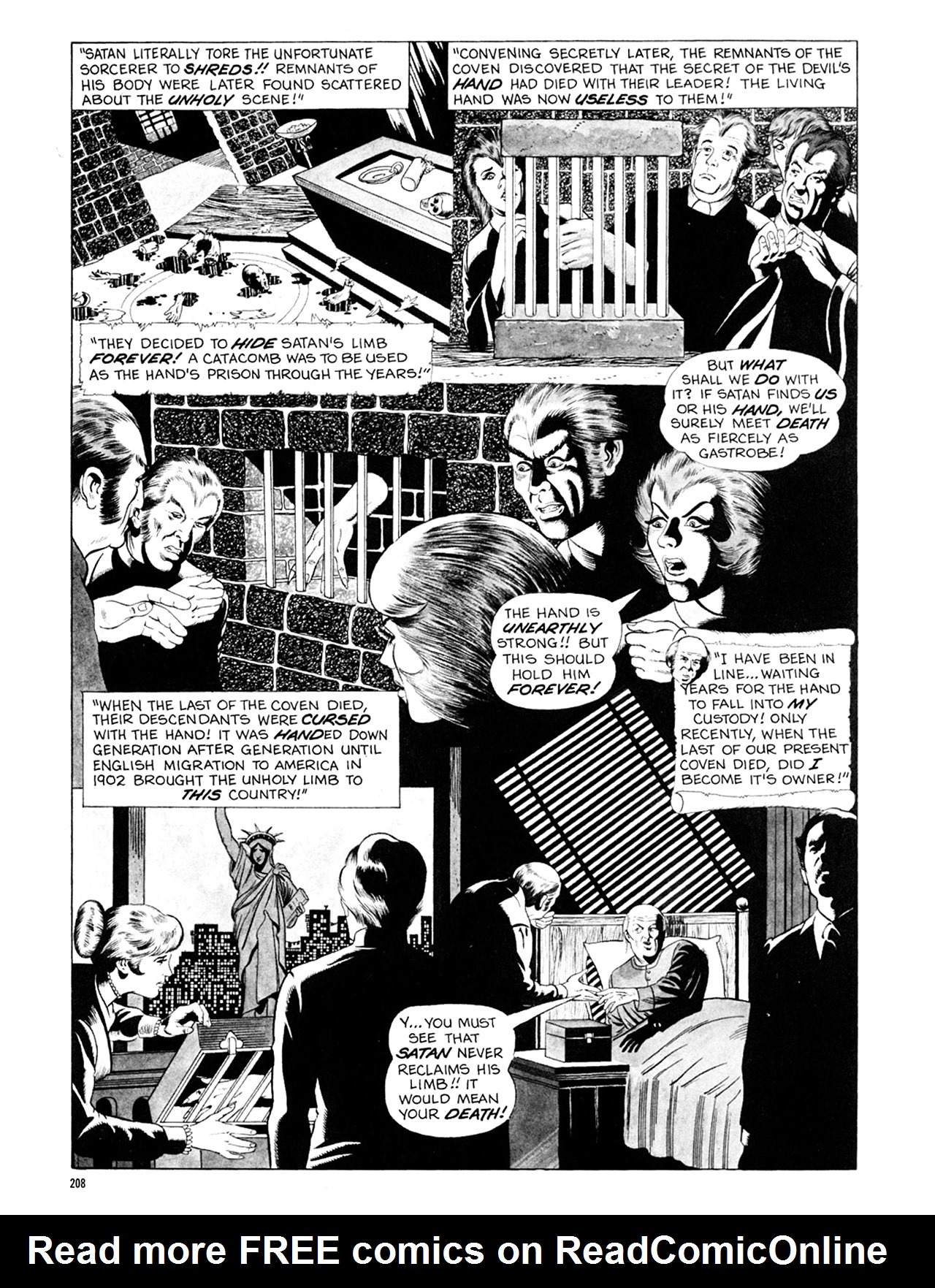 Read online Eerie Archives comic -  Issue # TPB 6 - 208
