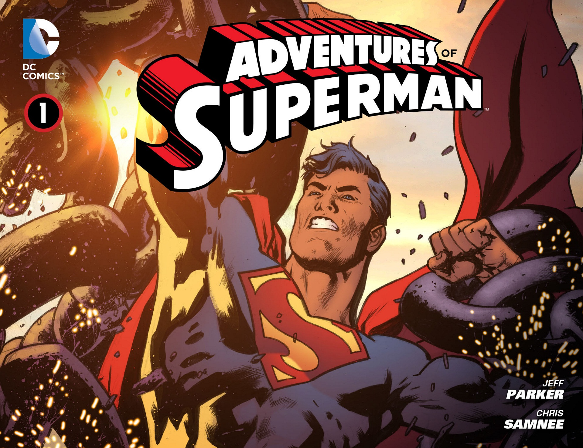 Read online Adventures of Superman [I] comic -  Issue #1 - 1
