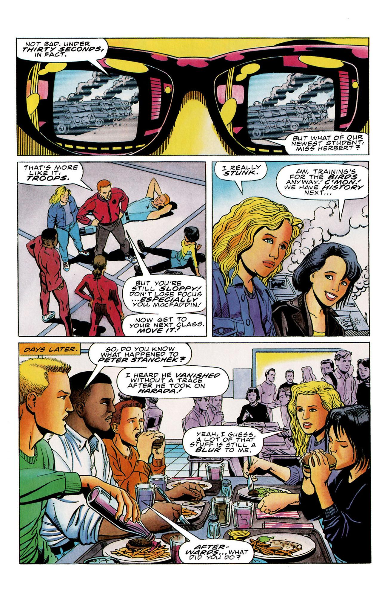 Read online Harbinger (1992) comic -  Issue #26 - 16