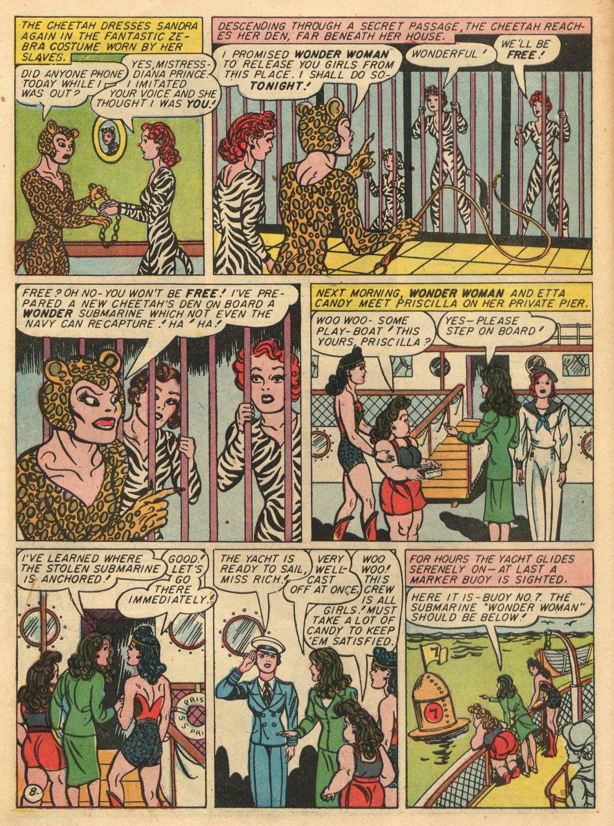 Read online Sensation (Mystery) Comics comic -  Issue #22 - 10