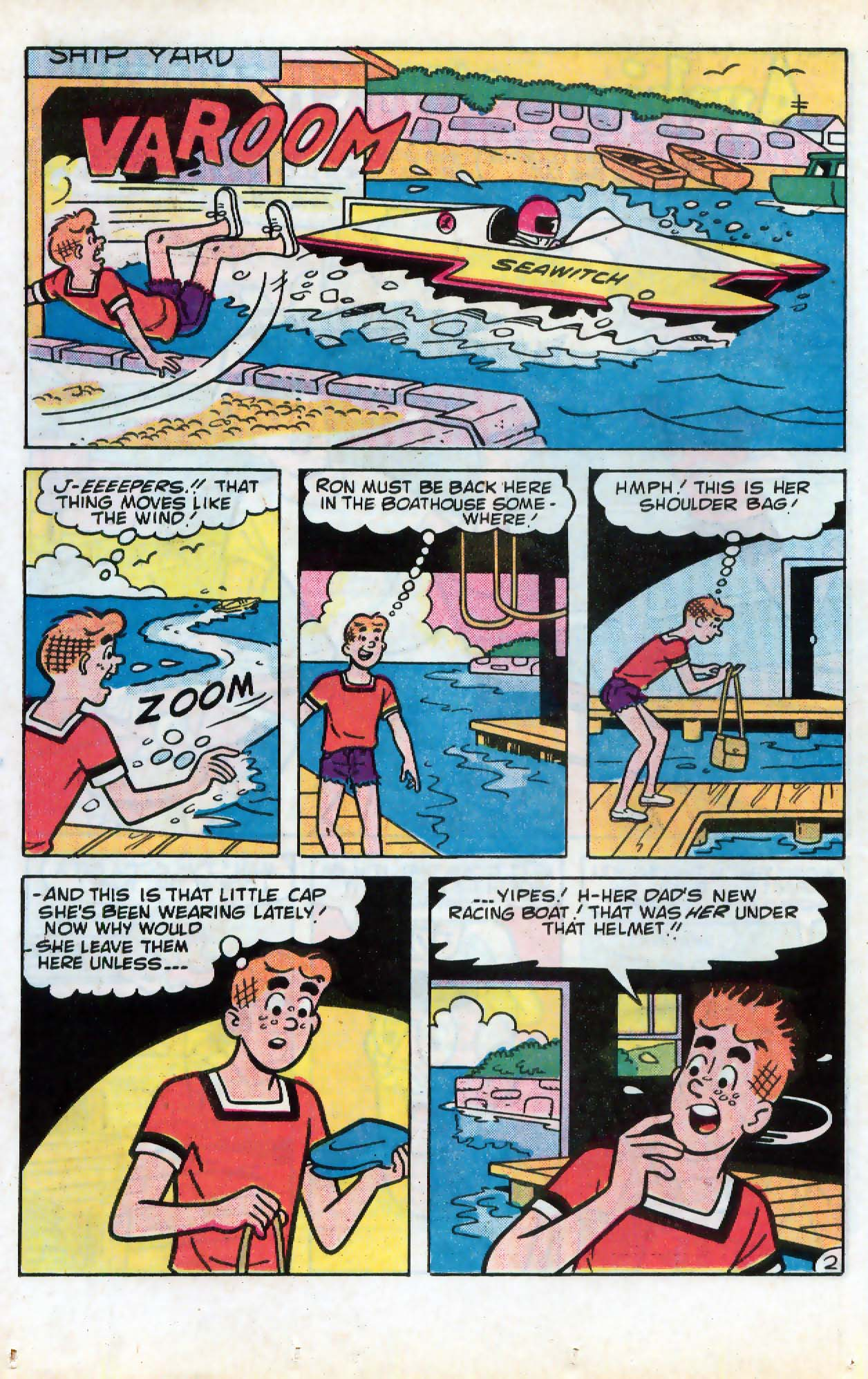 Read online Archie (1960) comic -  Issue #331 - 10