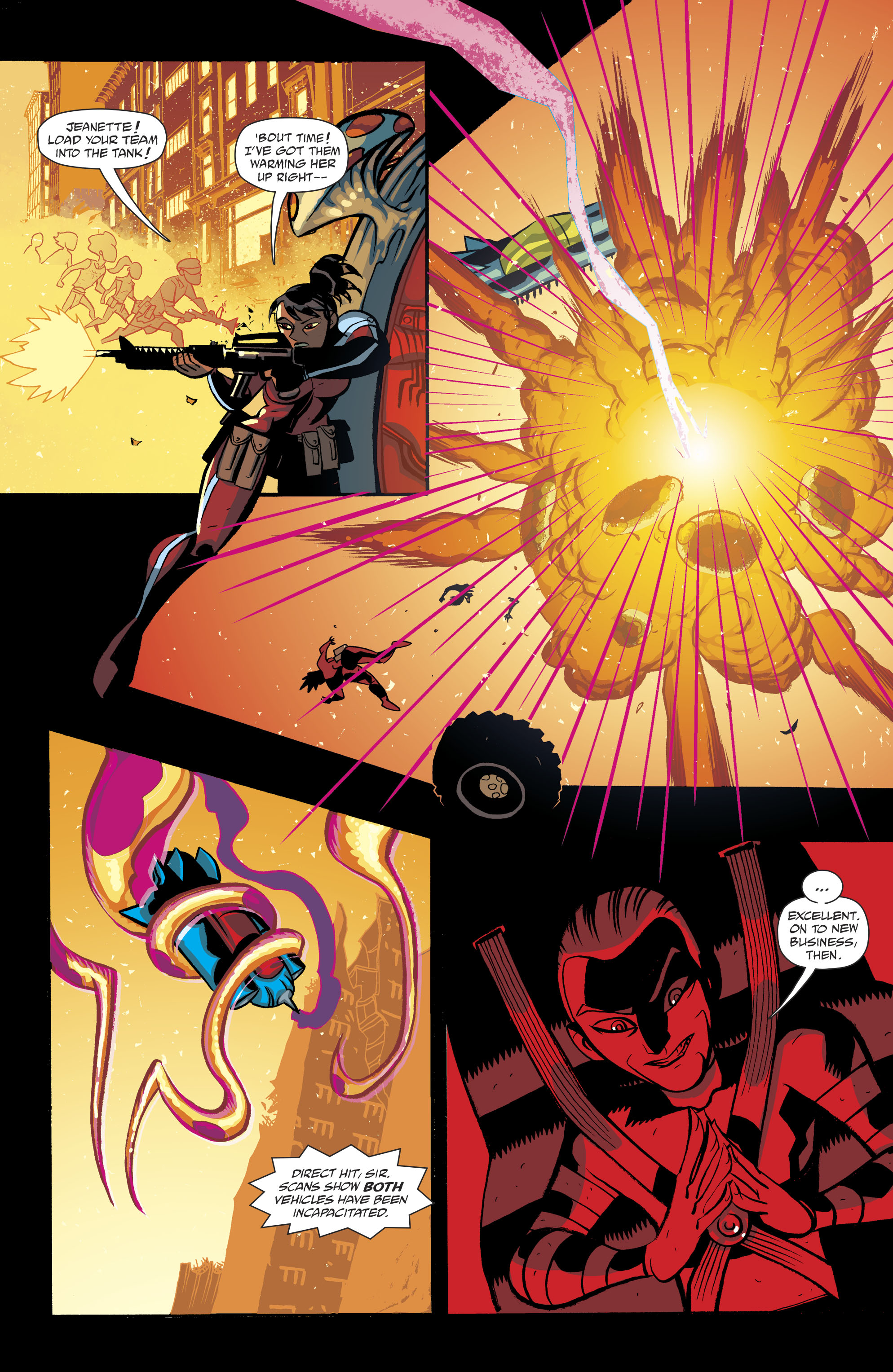 Read online Cave Carson Has a Cybernetic Eye comic -  Issue #8 - 22