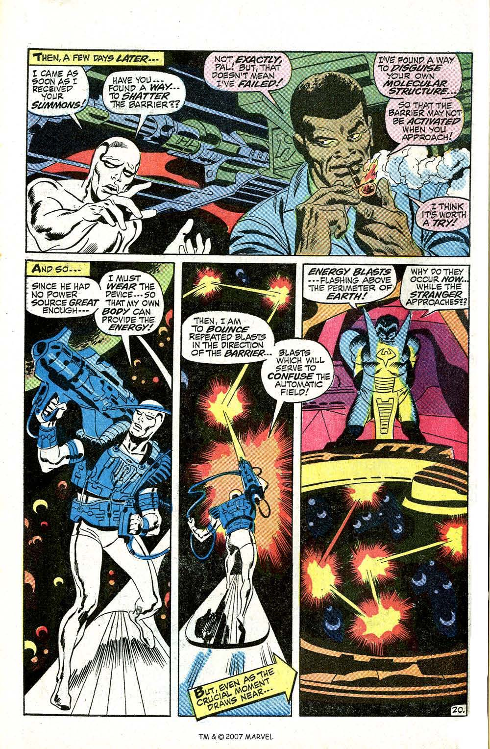 Read online Silver Surfer (1968) comic -  Issue #5 - 26