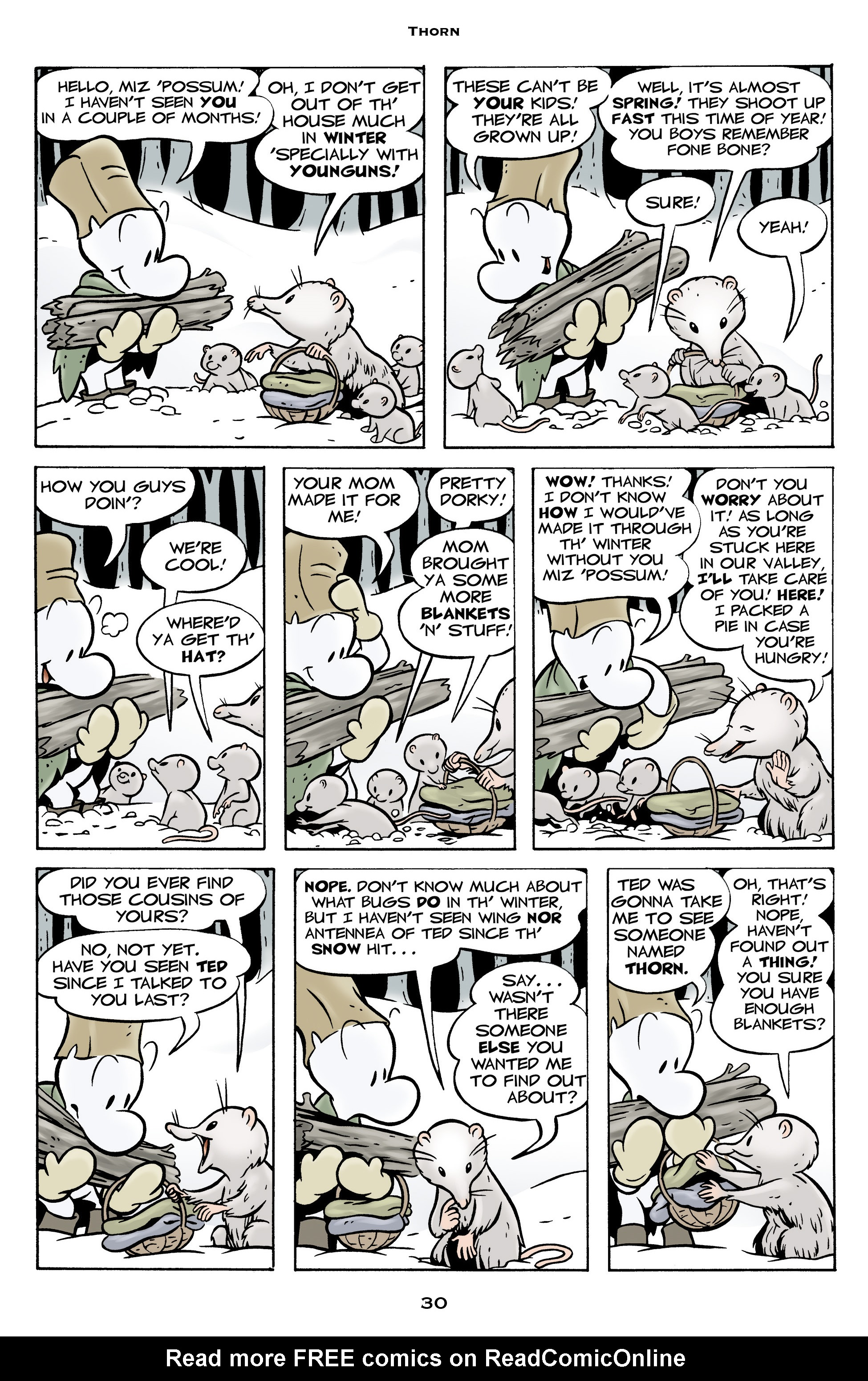 Read online Bone: Out From Boneville comic -  Issue # TPB - 30