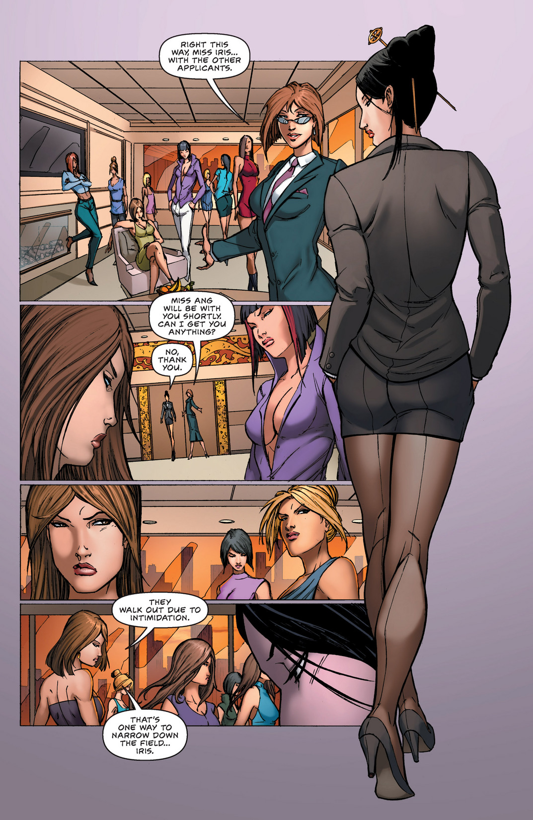 Read online All New Executive Assistant: Iris comic -  Issue #1 - 7